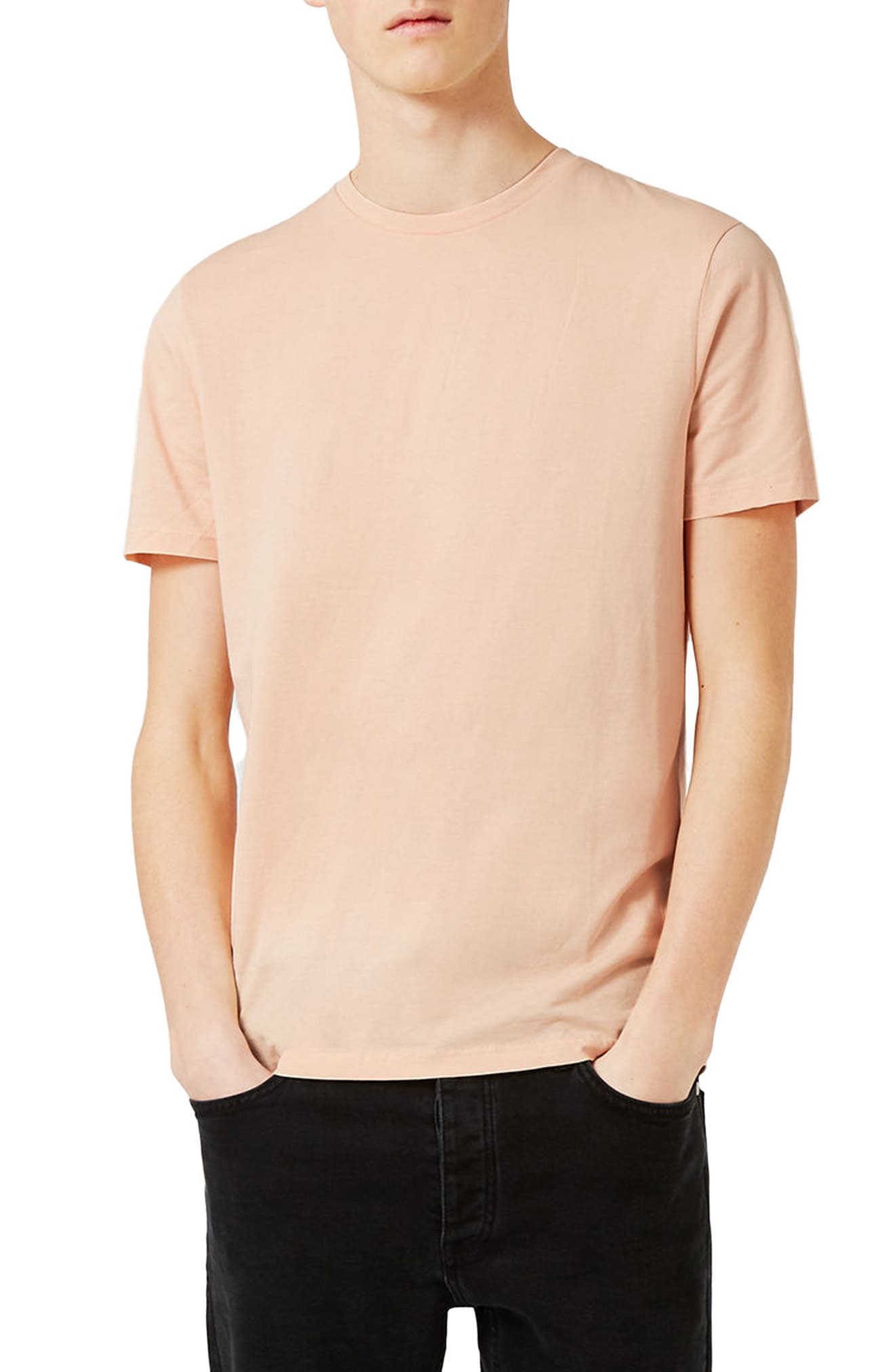 Slim Fit Crewneck T-Shirt,                             Main thumbnail 96, color,