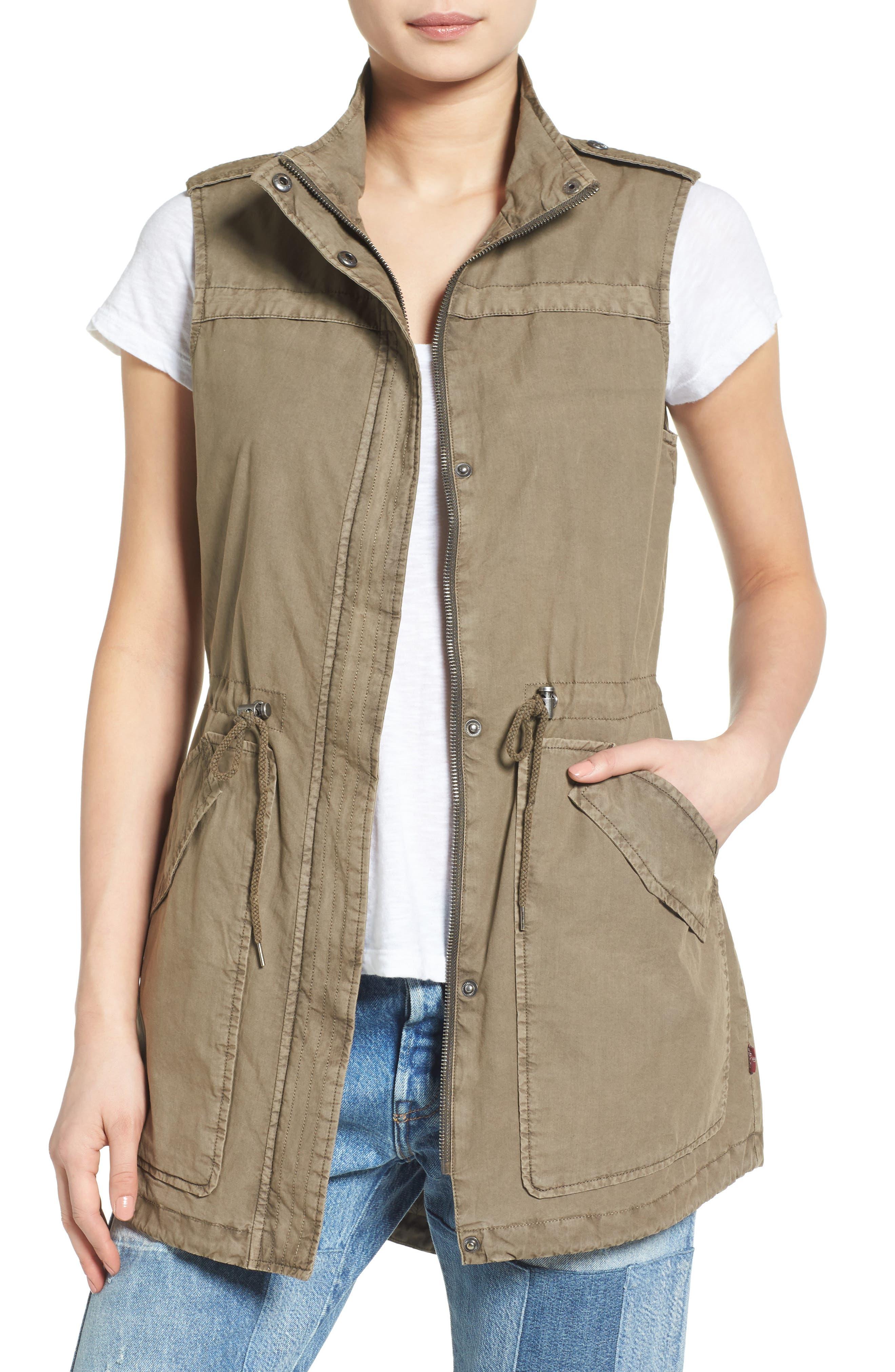 Levi's Parachute Cotton Vest,                             Main thumbnail 2, color,