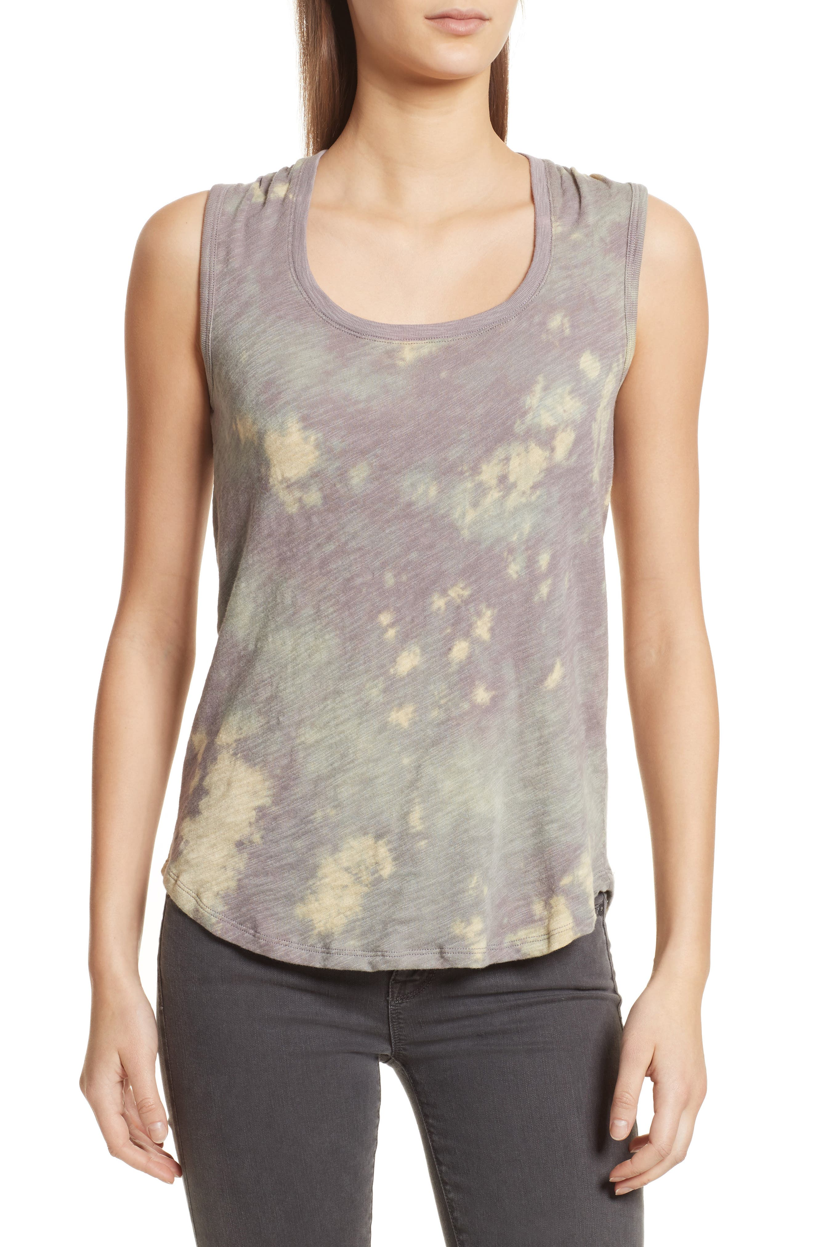 Sweetheart Tie Dye Tank,                             Main thumbnail 1, color,