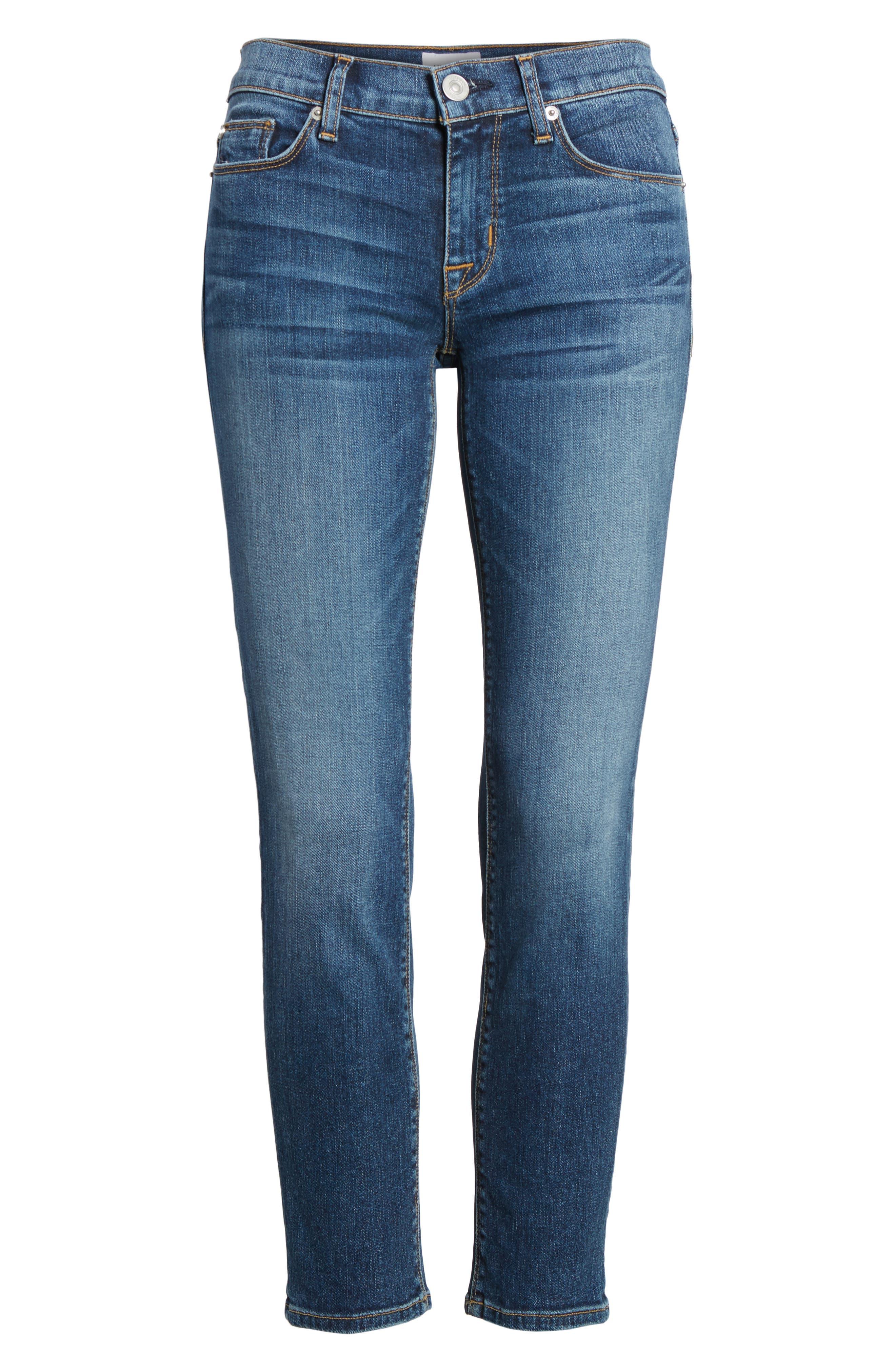 Tally Unfamed Hem Skinny Jeans,                             Alternate thumbnail 24, color,