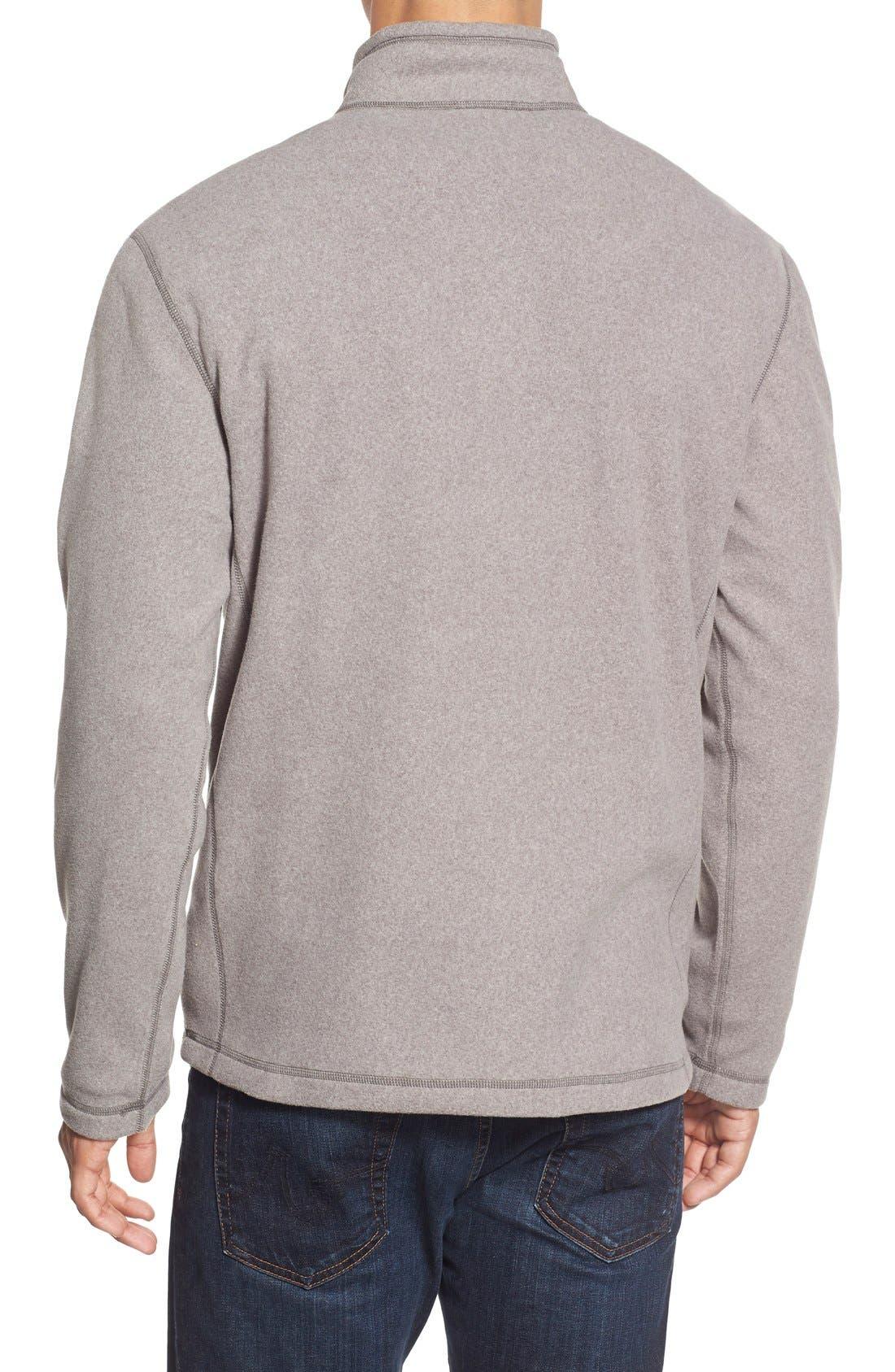 'TKA 100 Glacier' Quarter Zip Fleece Pullover,                             Alternate thumbnail 67, color,