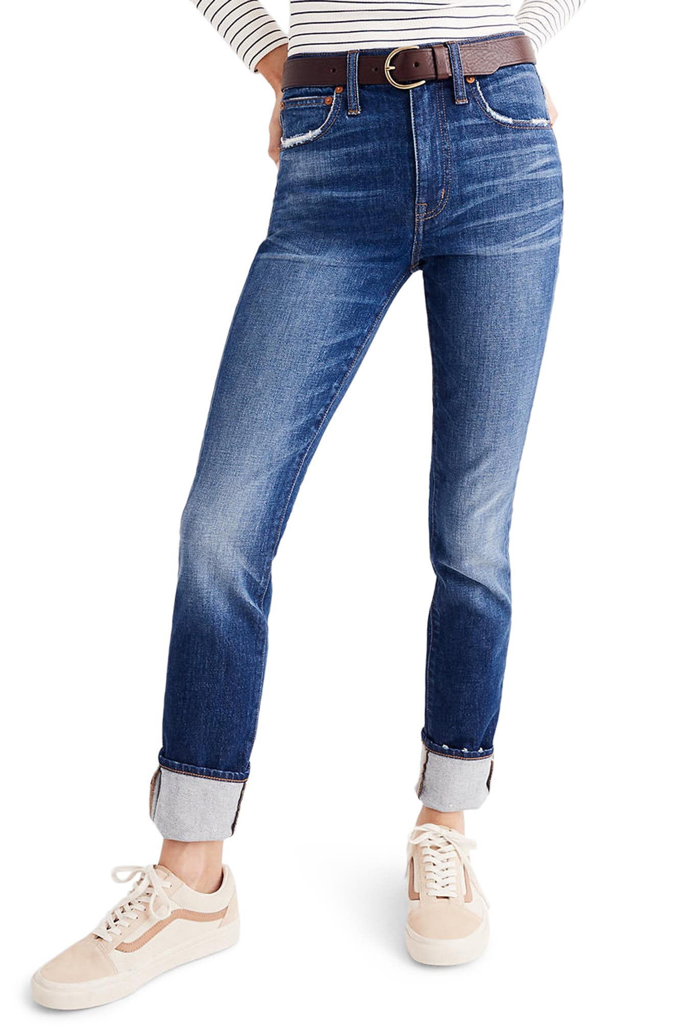 The High Rise Slim Boyjeans,                             Main thumbnail 1, color,                             401