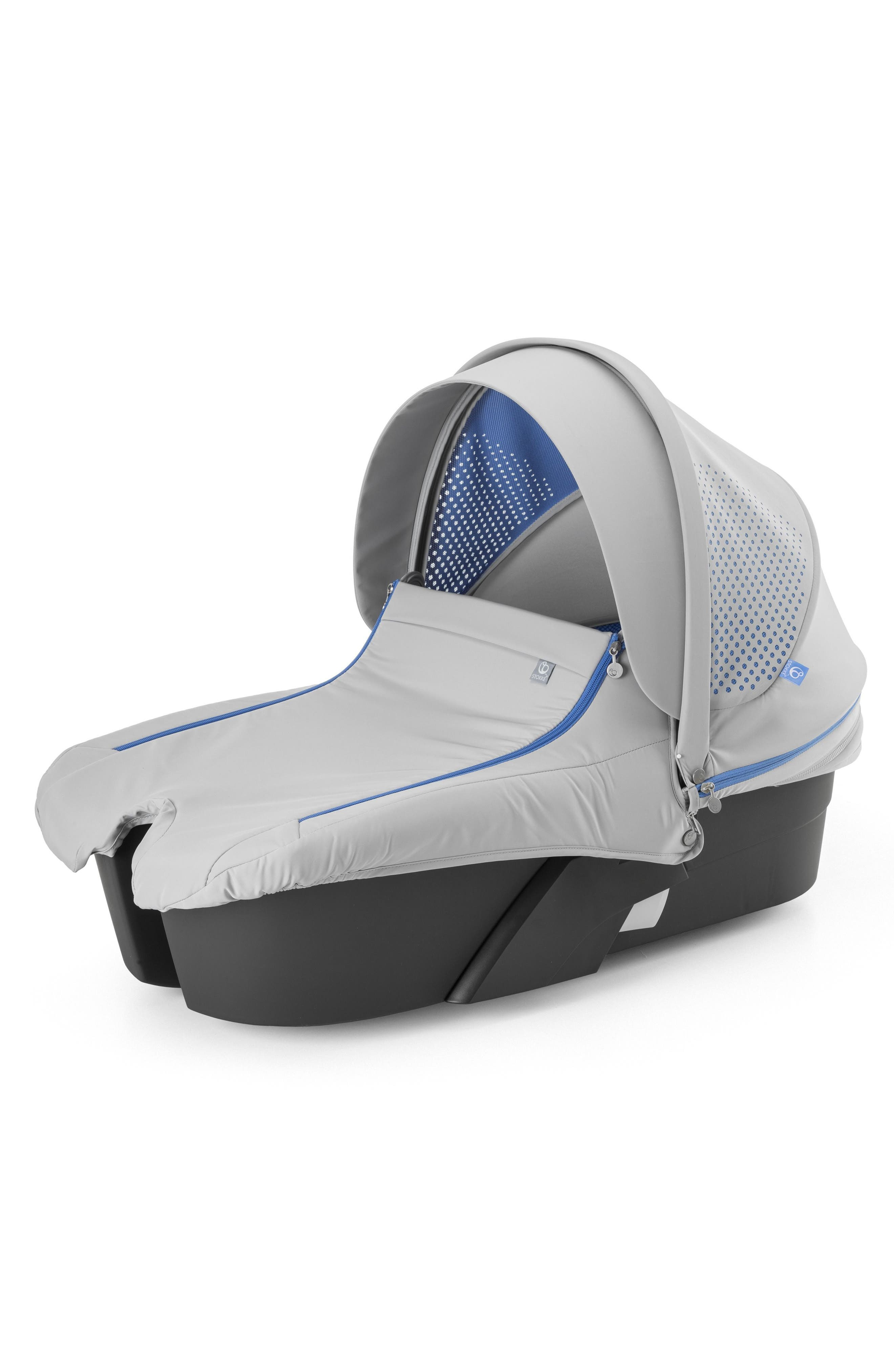 Xplory<sup>®</sup> Athleisure Stroller Carry Cot Attachment,                             Main thumbnail 1, color,                             410