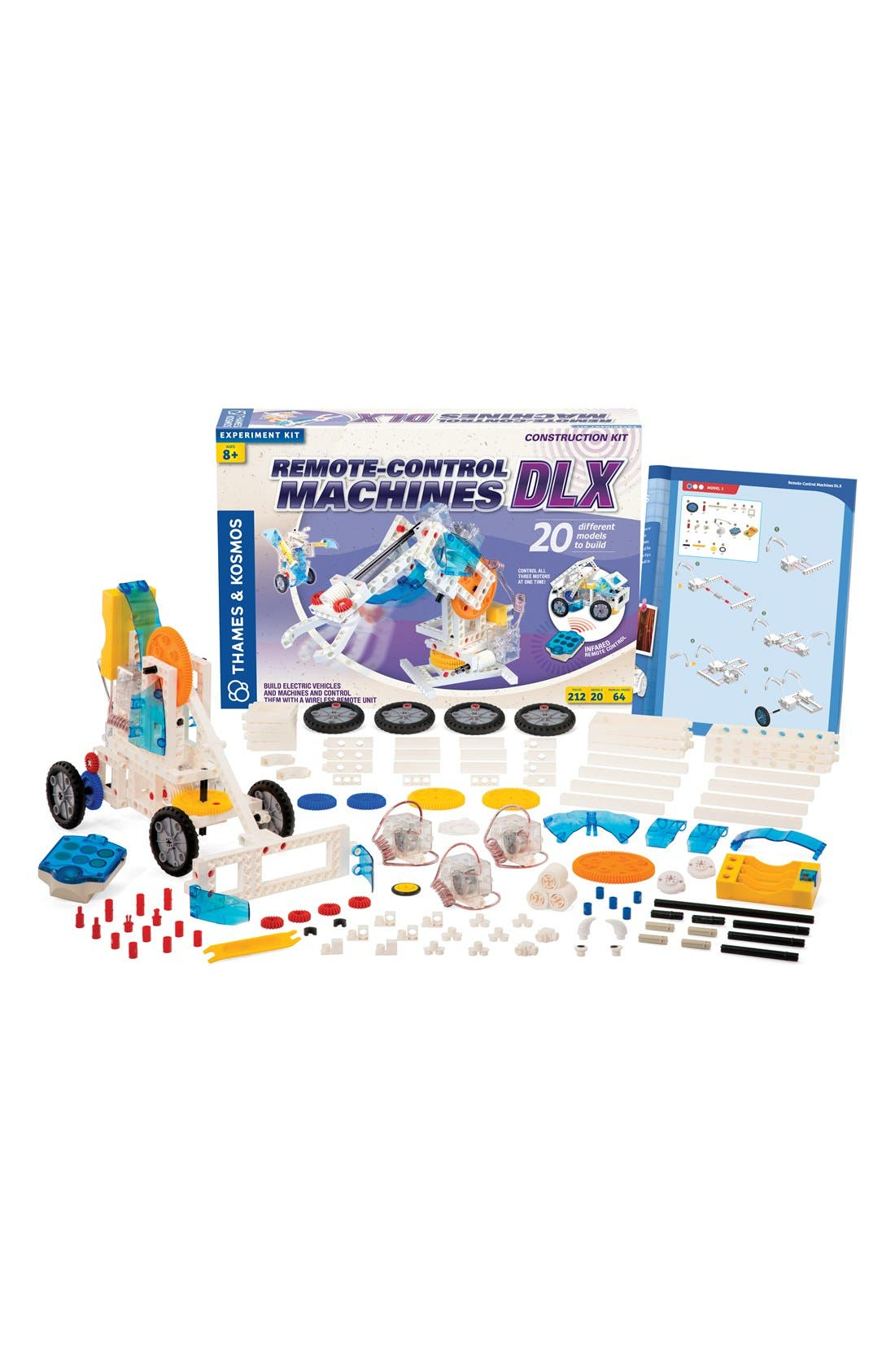 'Remote Control Machines DLX' Experiment Kit,                         Main,                         color, NO COLOR