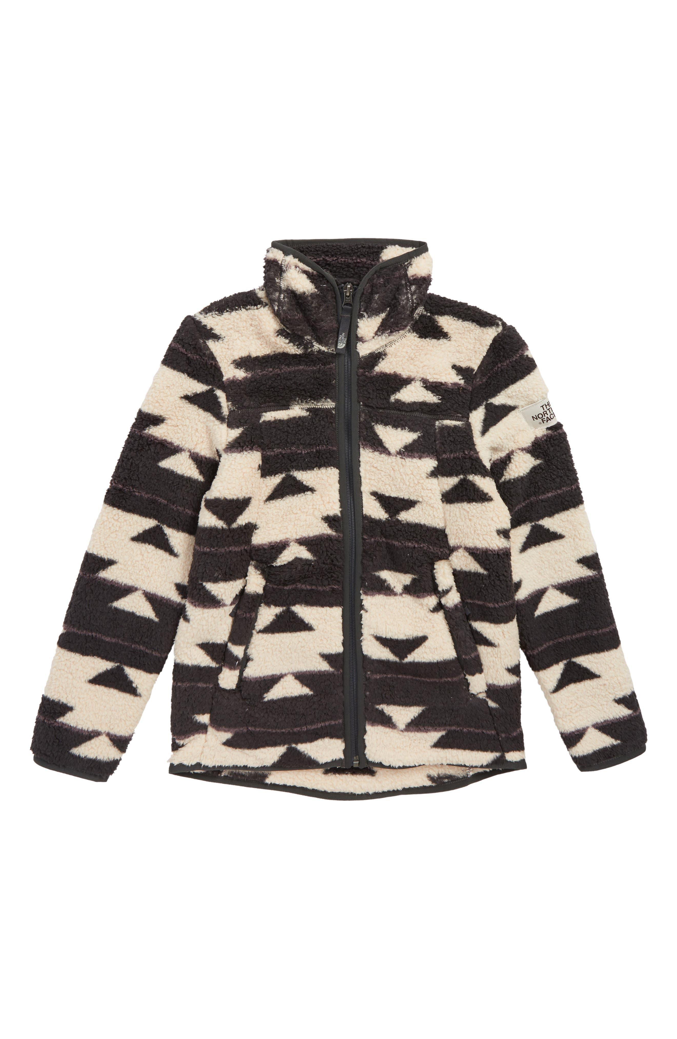 Campshire Fleece Jacket,                         Main,                         color, PEYOTE BEIGE CA BASKET