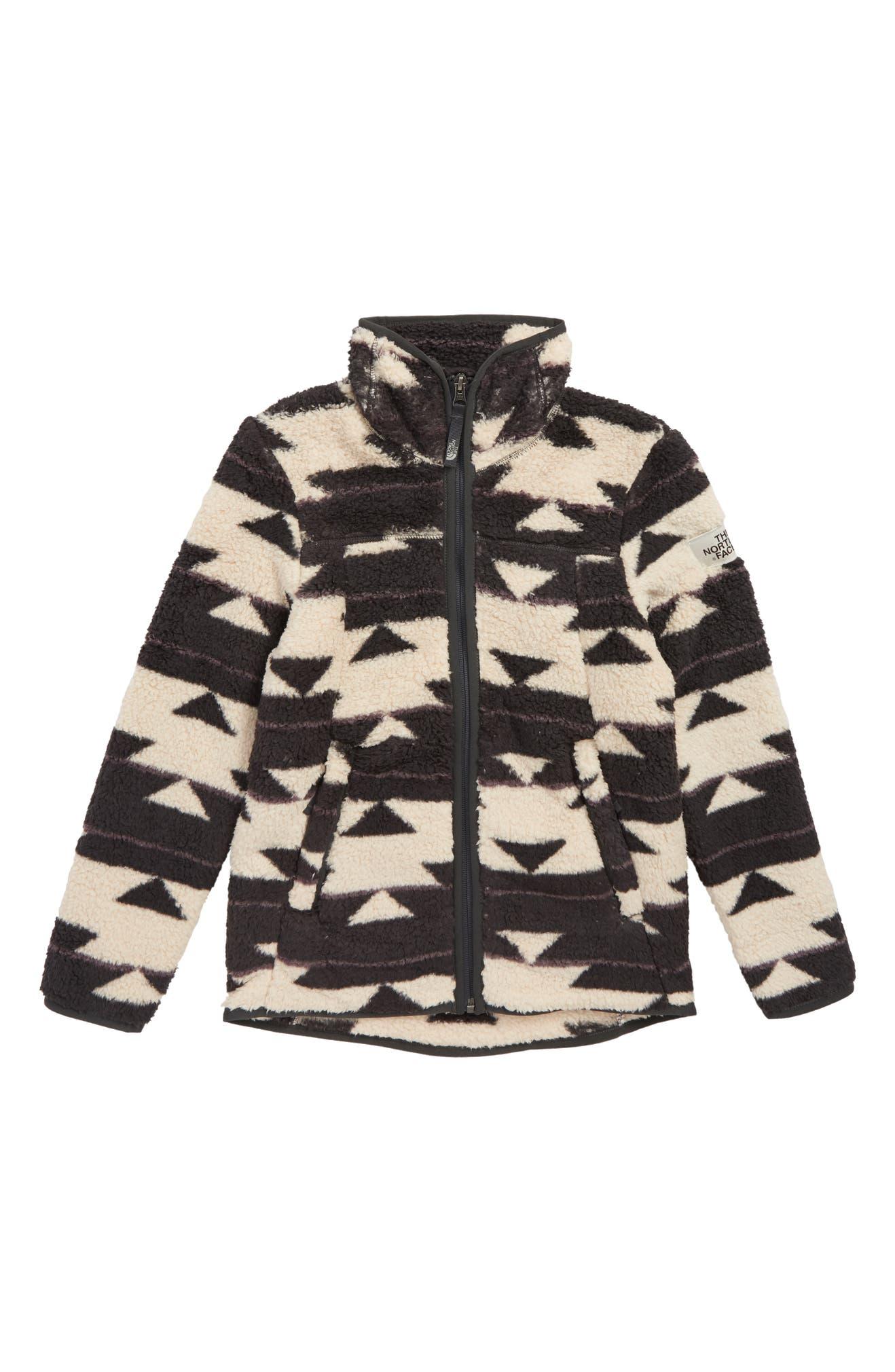 b3d84b546 The North Face Campshire Fleece Jacket (Big Girls)