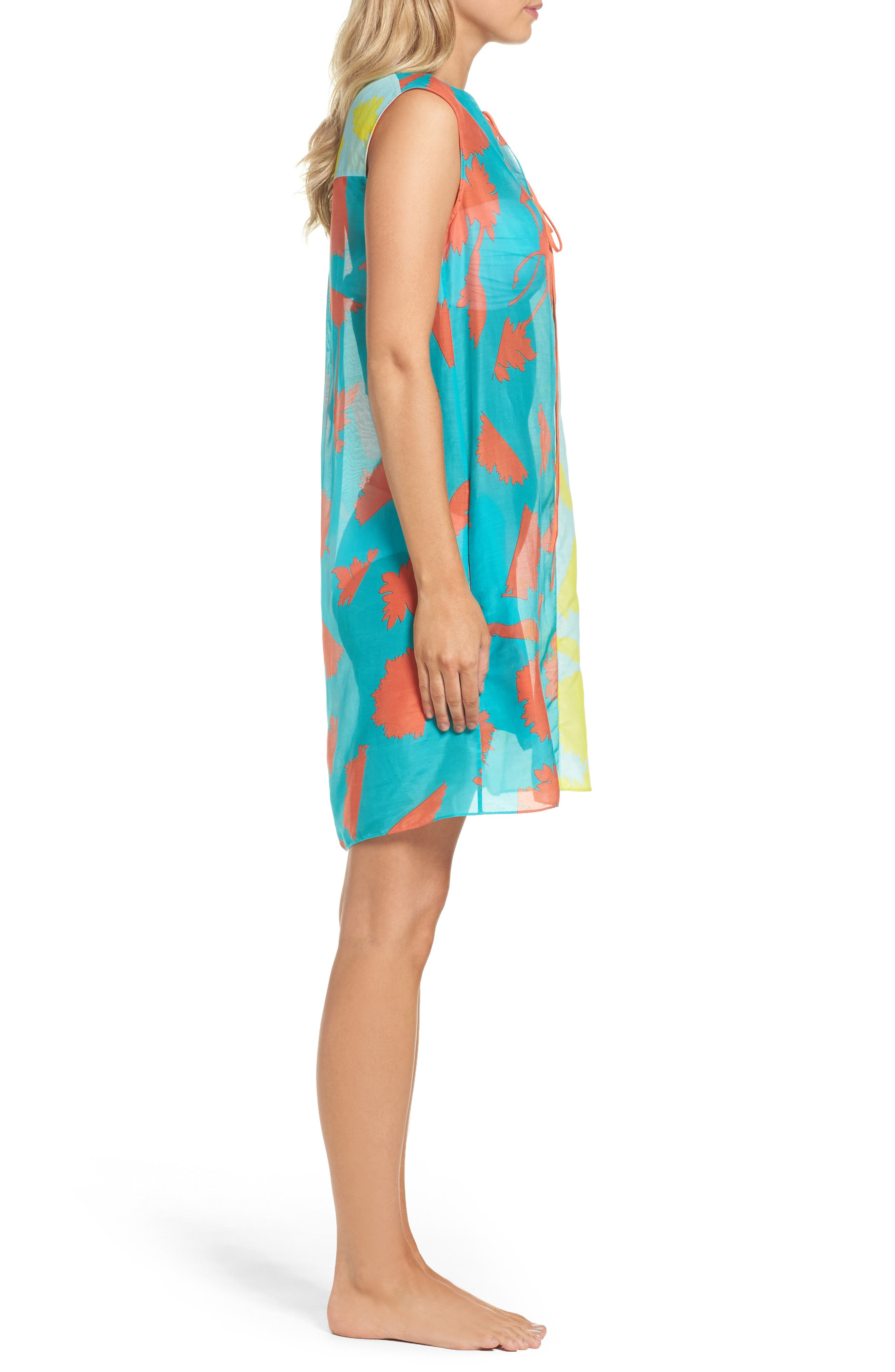 Cover-Up Dress,                             Alternate thumbnail 3, color,                             427