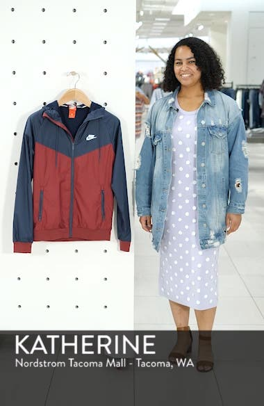 'Windrunner' Colorblock Jacket, sales video thumbnail