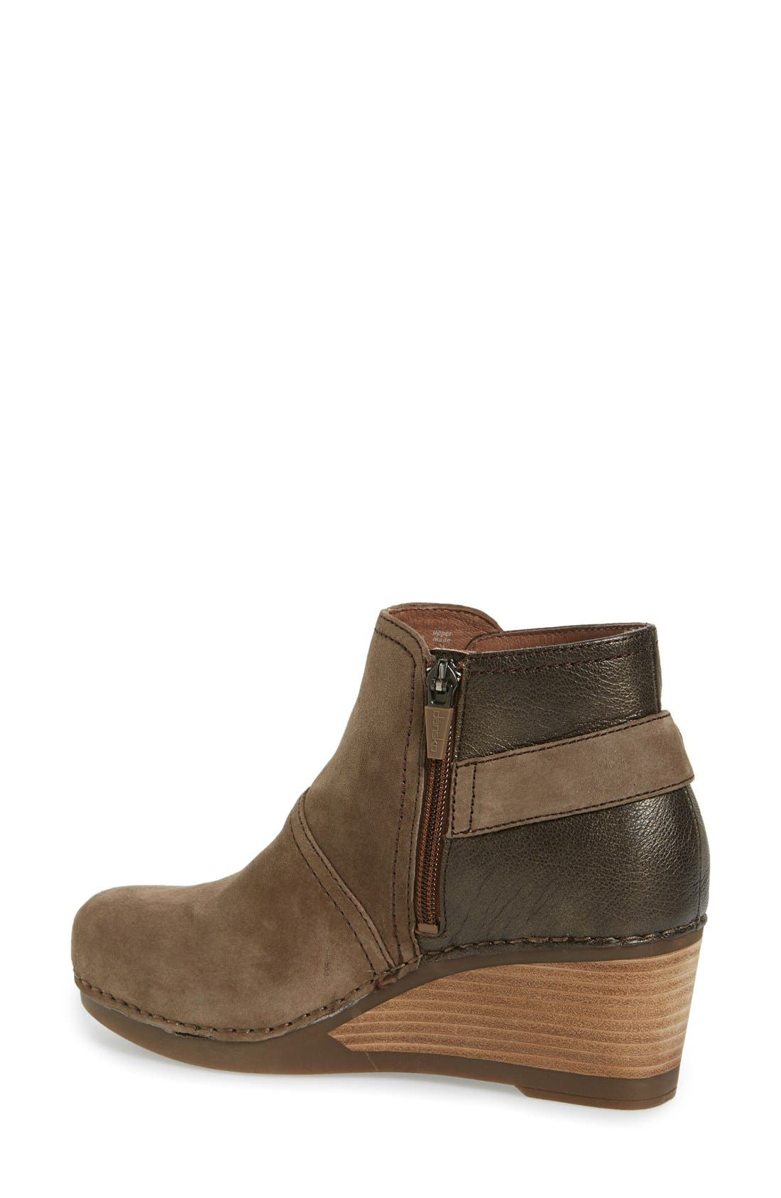 'Shirley' Wedge Bootie,                             Alternate thumbnail 9, color,