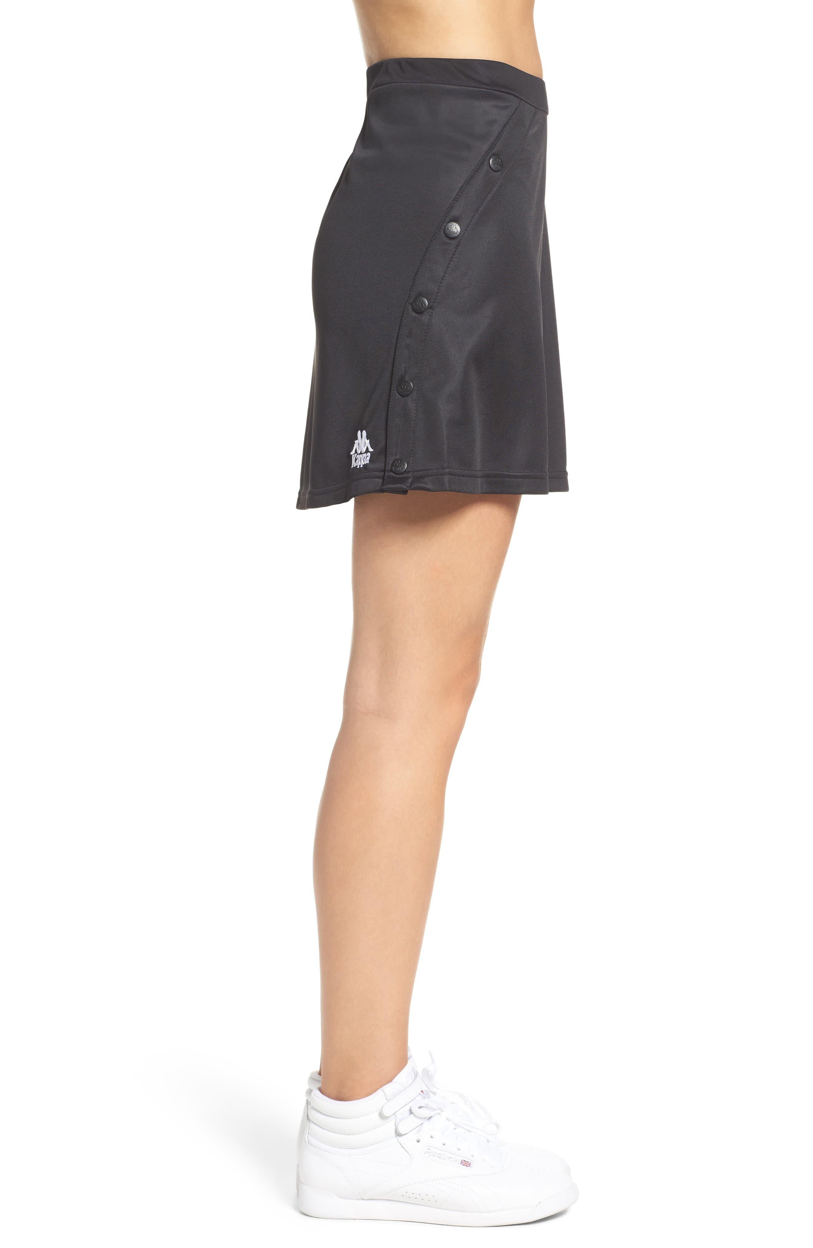 Authentic Piqué Skirt,                             Alternate thumbnail 3, color,                             001