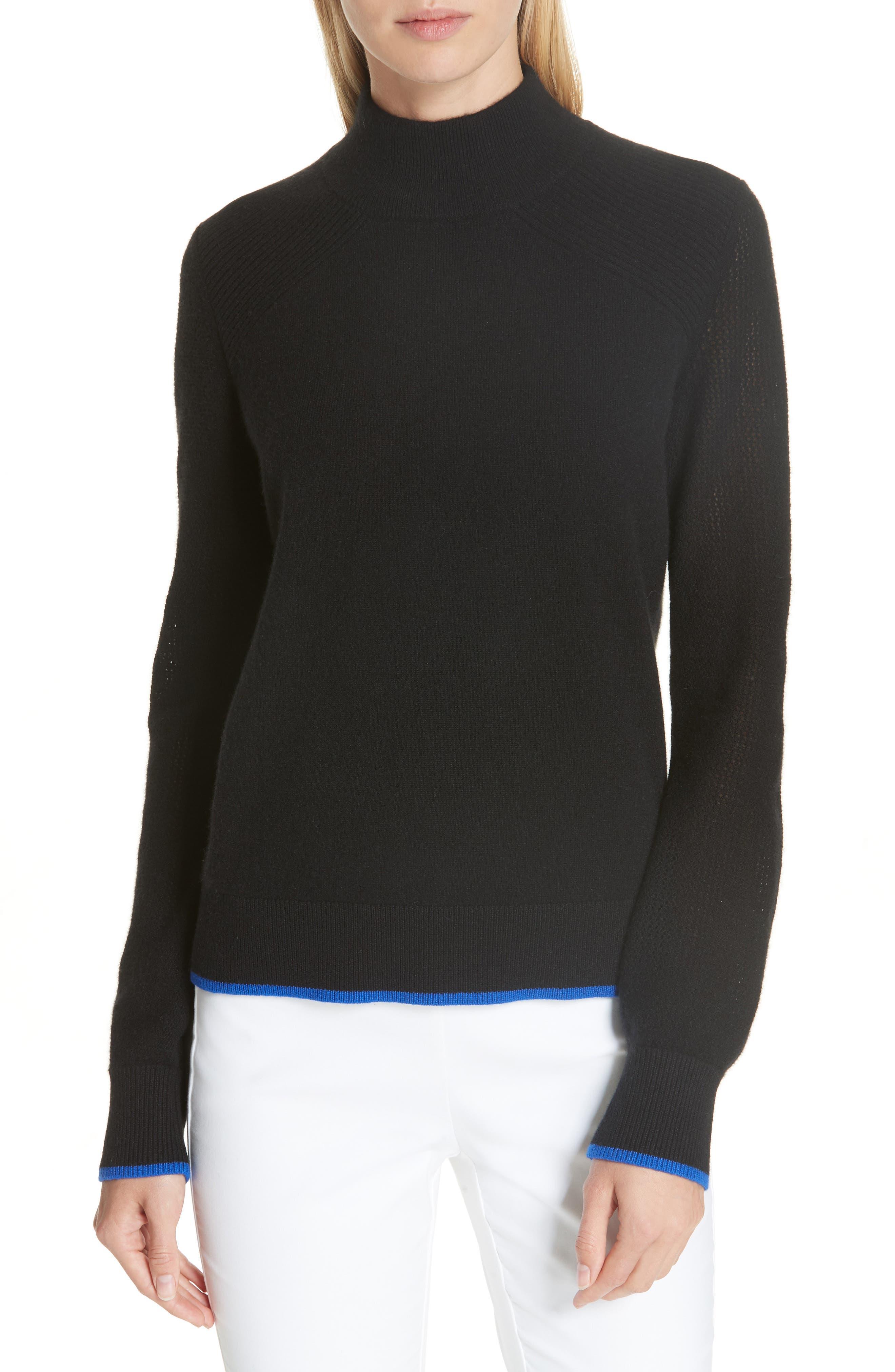 Rag & Bone Yorke Cashmere Sweater, Black