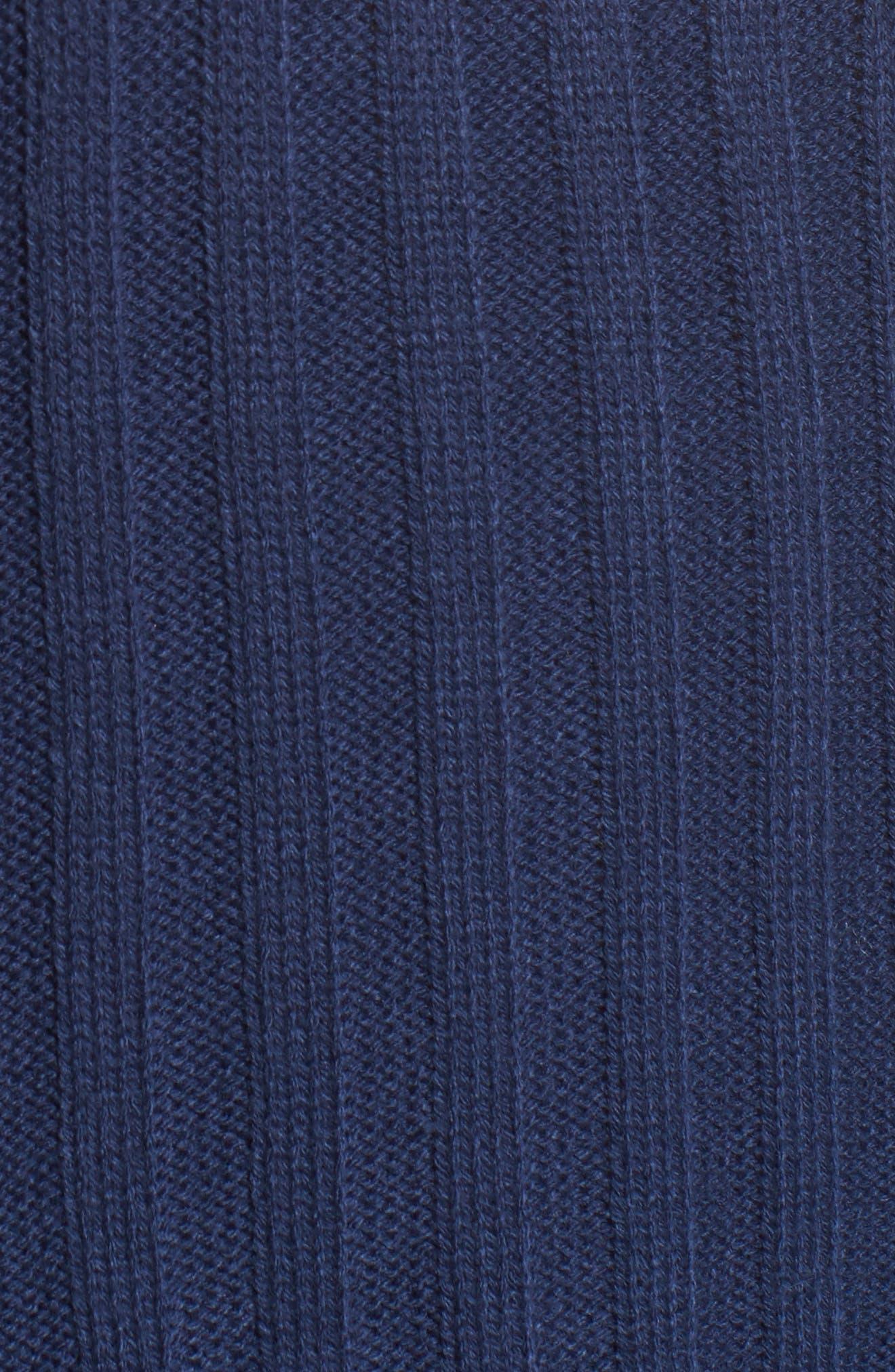Wide Rib Mock Neck Sweater,                             Alternate thumbnail 14, color,