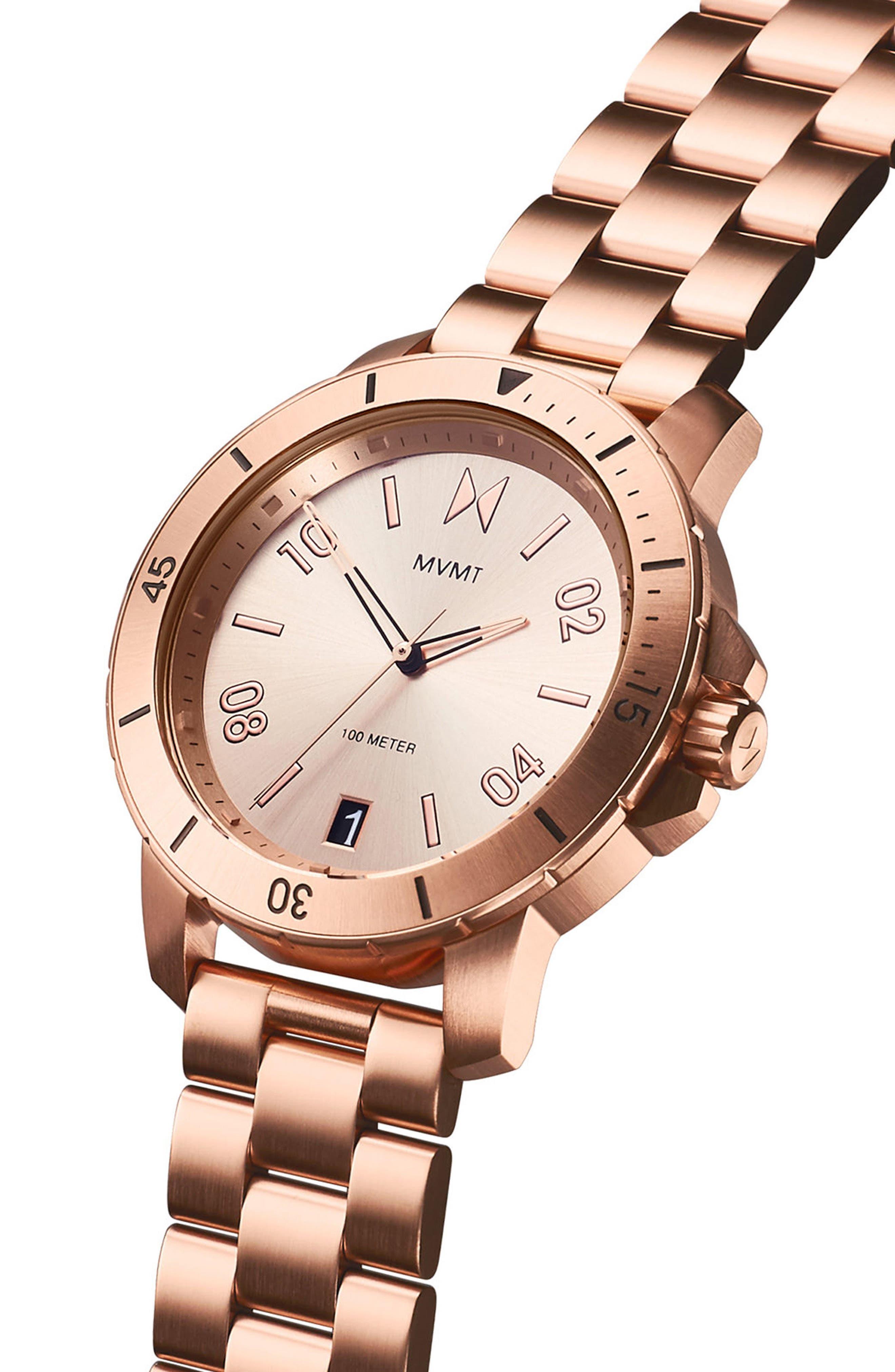Modern Sport Bracelet Watch, 42mm,                             Alternate thumbnail 3, color,                             710