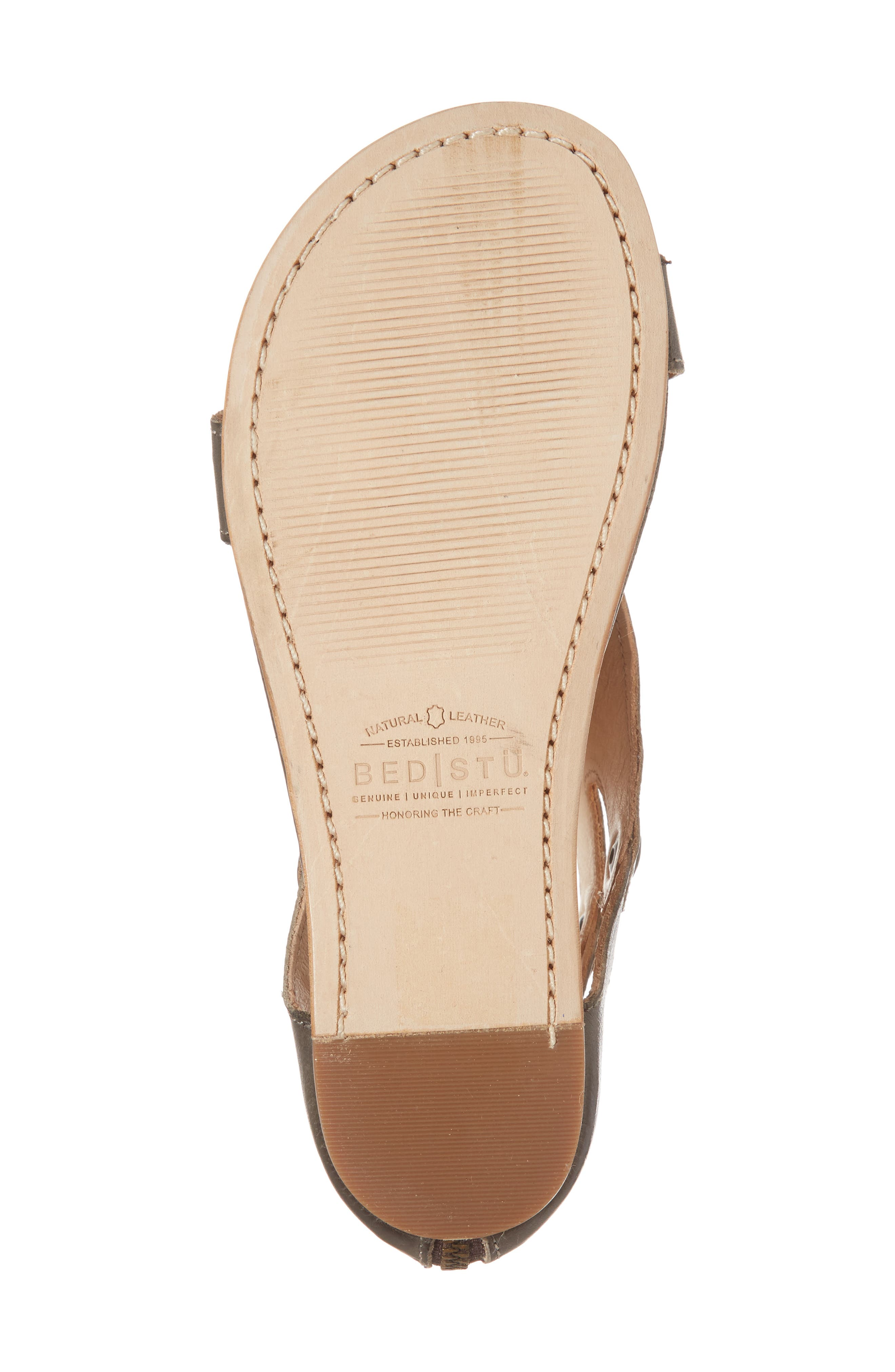 Soto Sandal,                             Alternate thumbnail 6, color,                             TAUPE LEATHER