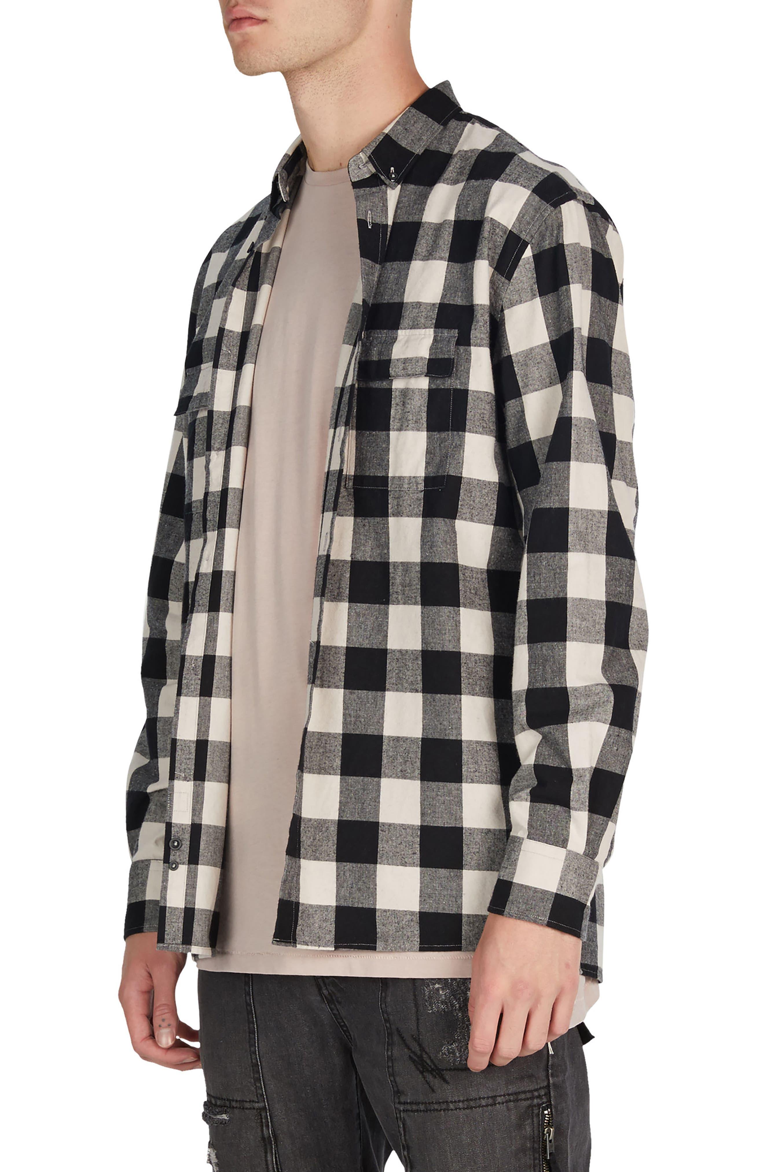 Flannel Box Shirt,                             Alternate thumbnail 7, color,