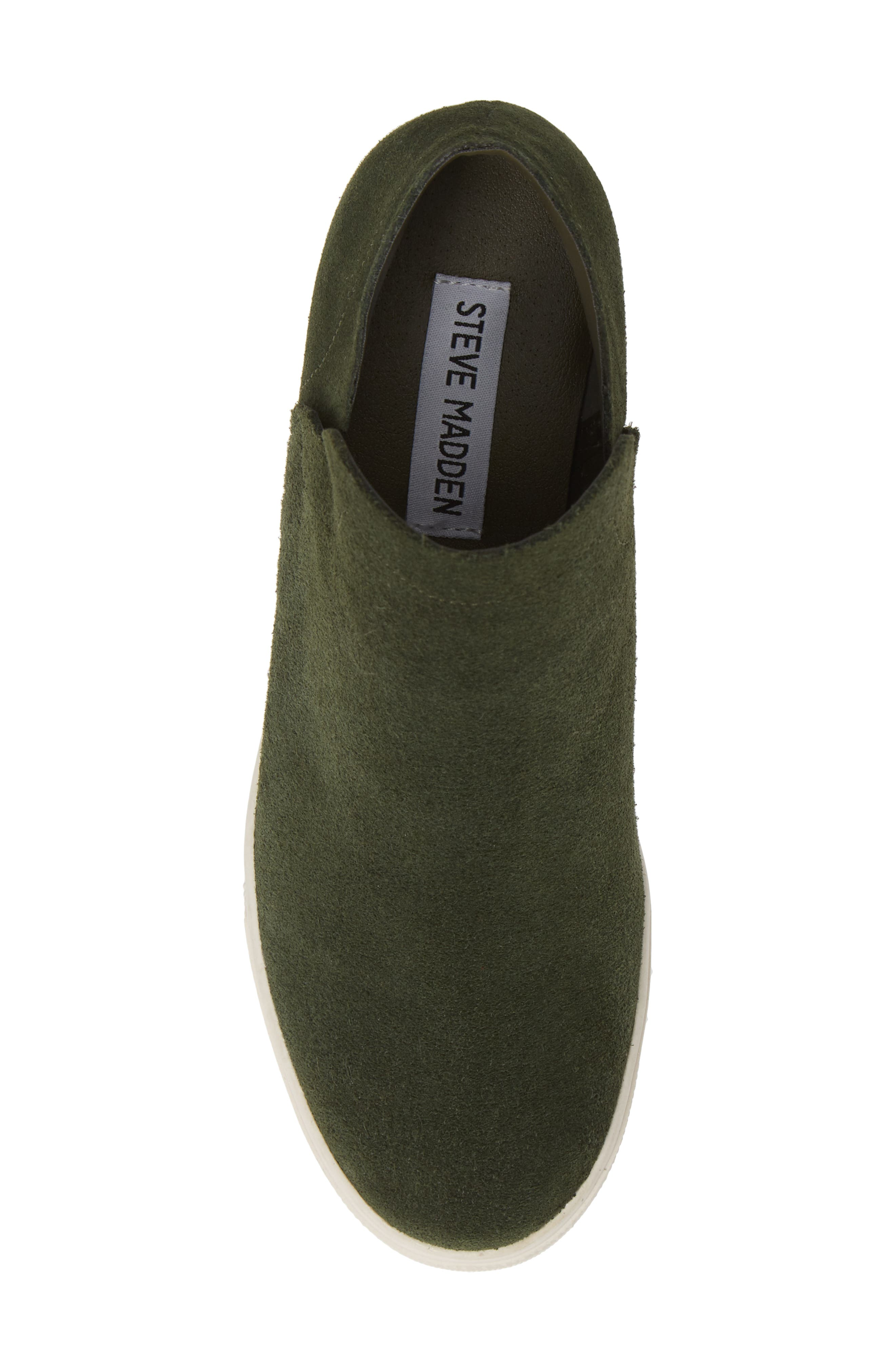 Wrangle Sneaker,                             Alternate thumbnail 5, color,                             OLIVE SUEDE