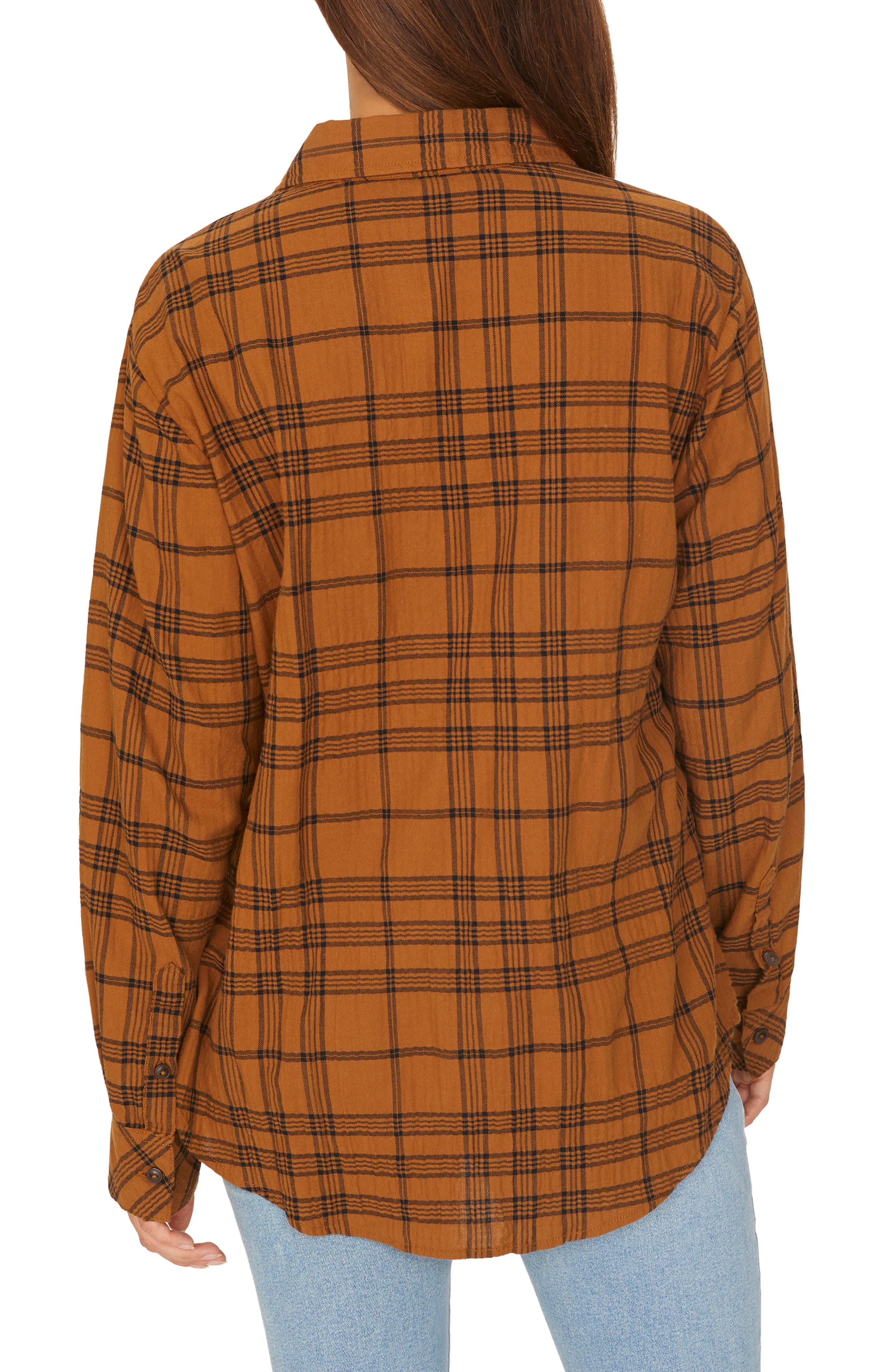 Boyfriend for Life Plaid Shirt,                             Alternate thumbnail 2, color,                             AUTUMN PLAID