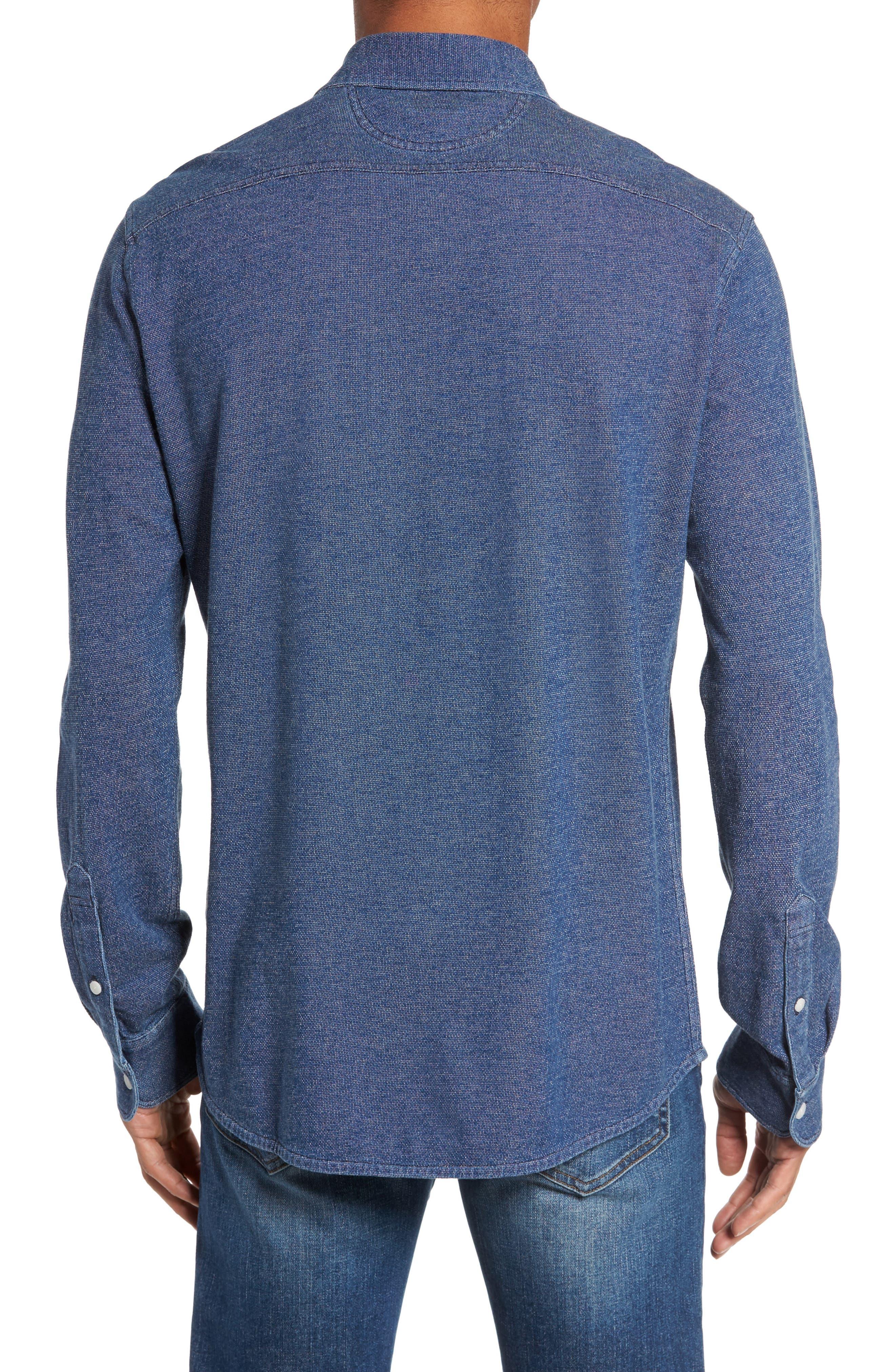 Belmar Knit Sport Shirt,                             Alternate thumbnail 2, color,                             404