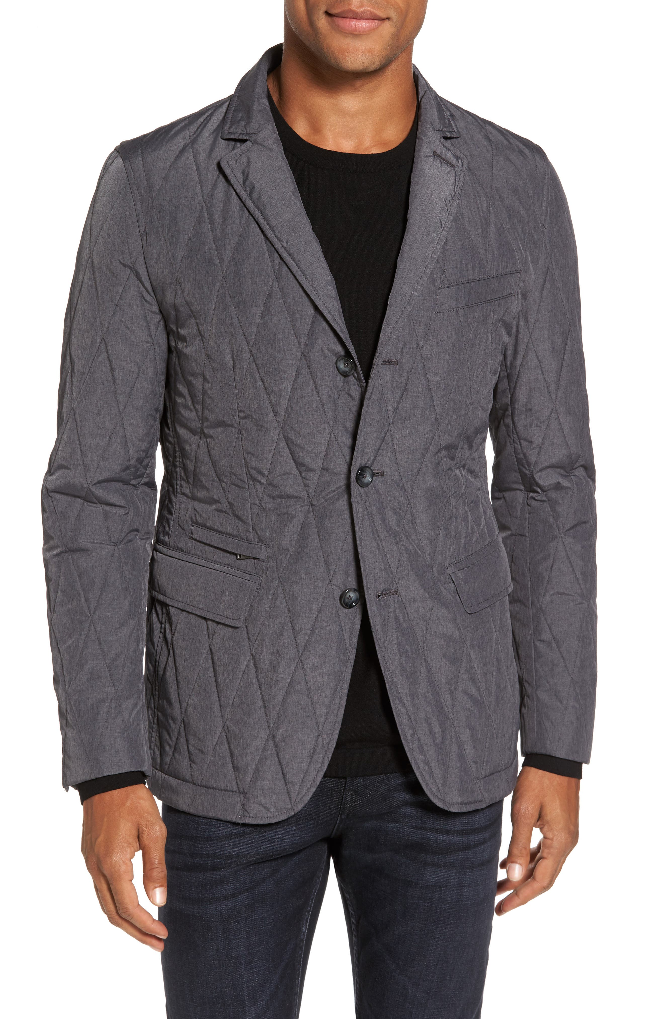 Jord Water Repellent Quilted Sport Coat,                         Main,                         color,