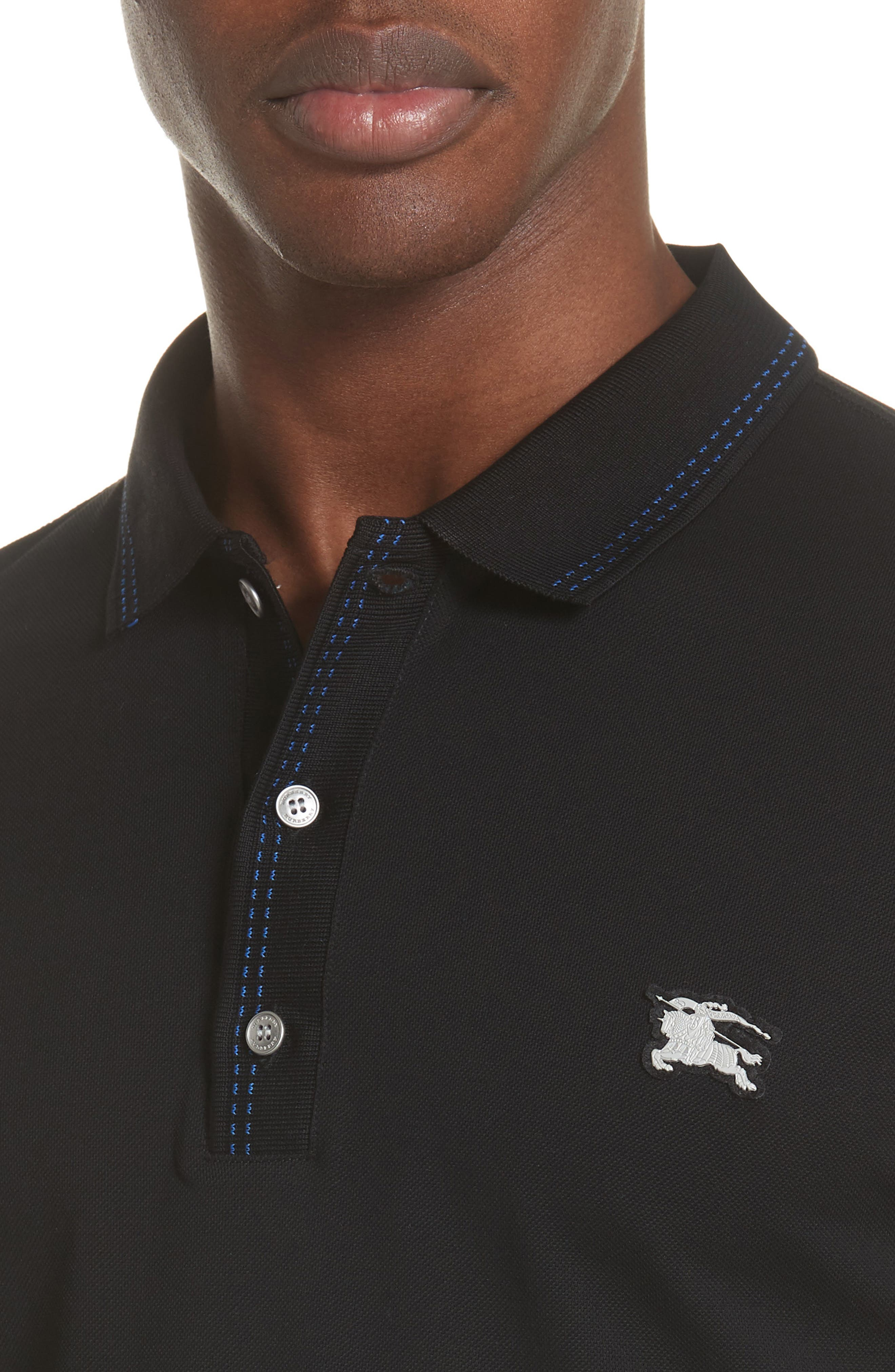 Kenforth Polo,                             Alternate thumbnail 4, color,                             BLACK