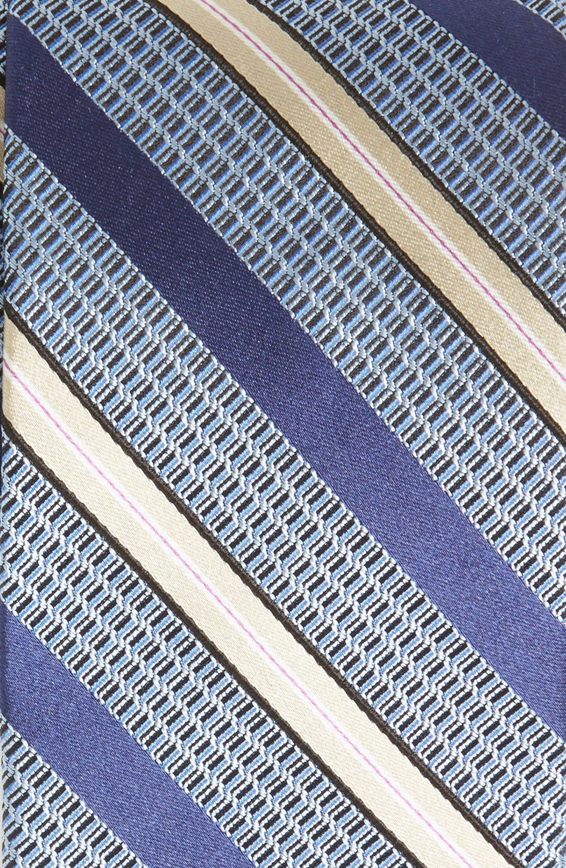 Woven Silk Tie,                             Alternate thumbnail 2, color,                             400