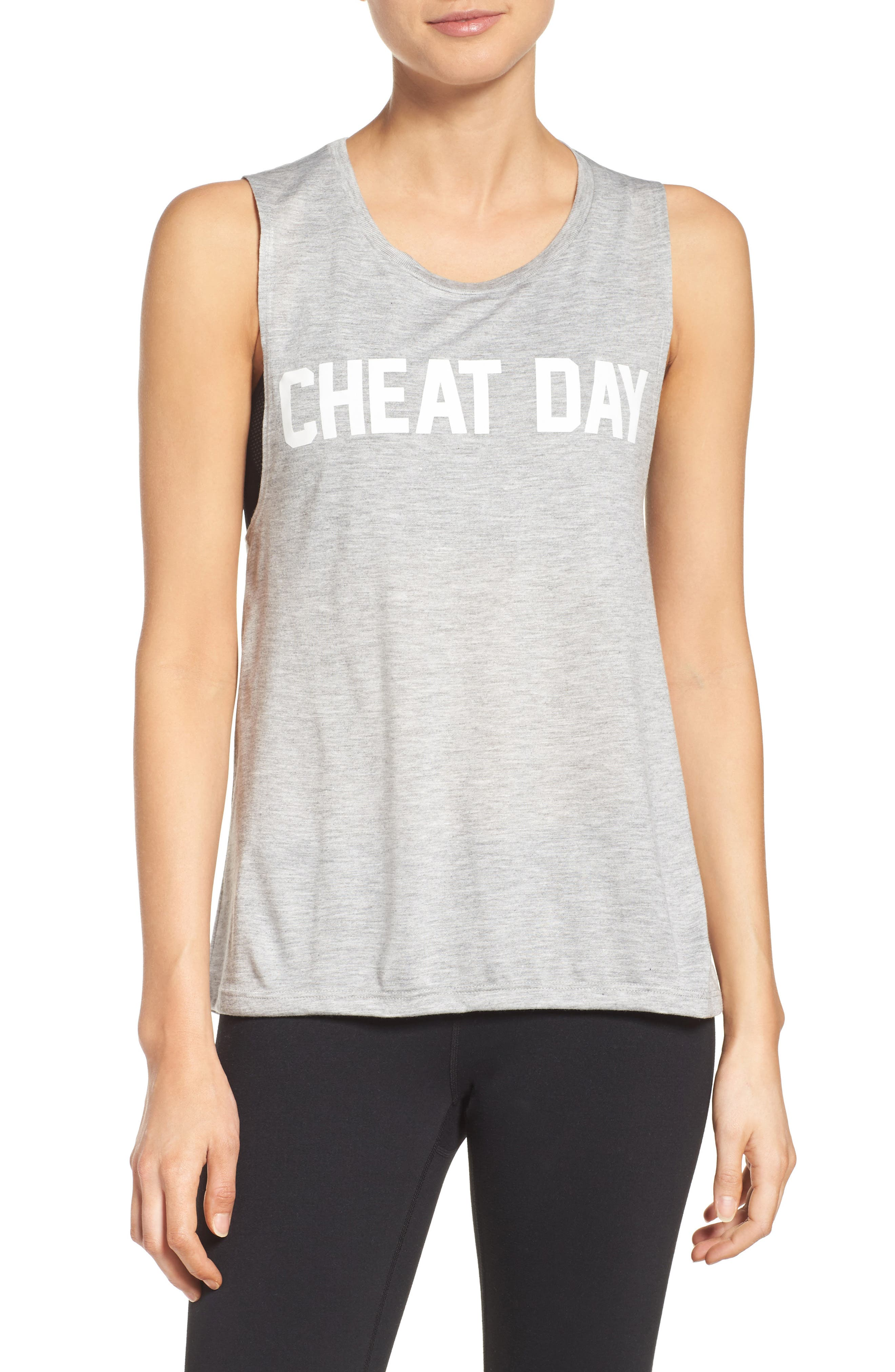 Cheat Day Tank,                             Main thumbnail 1, color,                             020