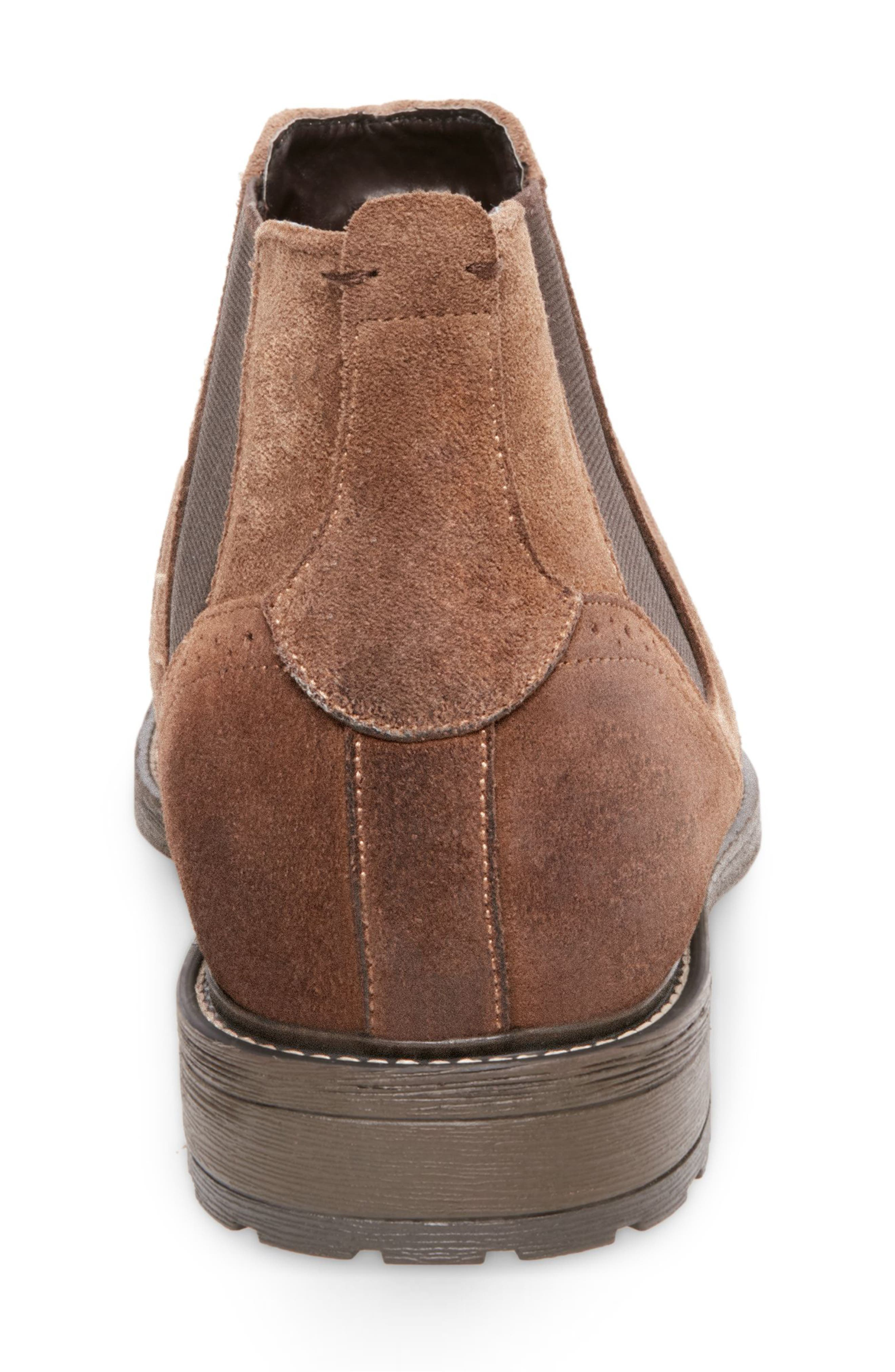 Tampa Chelsea Boot,                             Alternate thumbnail 6, color,                             CAMEL SUEDE