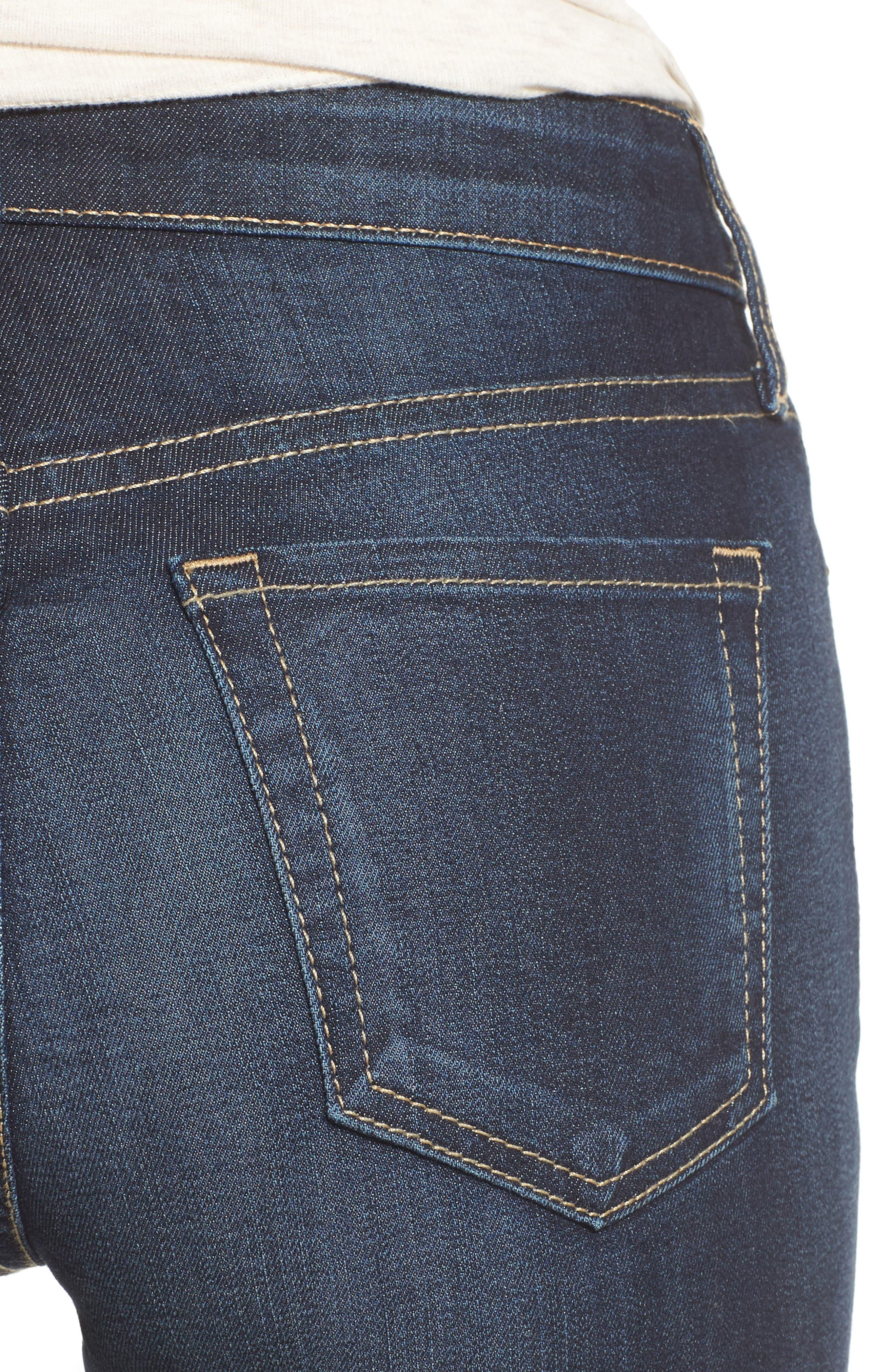 Natalie Curvy Fit Bootleg Jeans,                             Alternate thumbnail 4, color,                             434