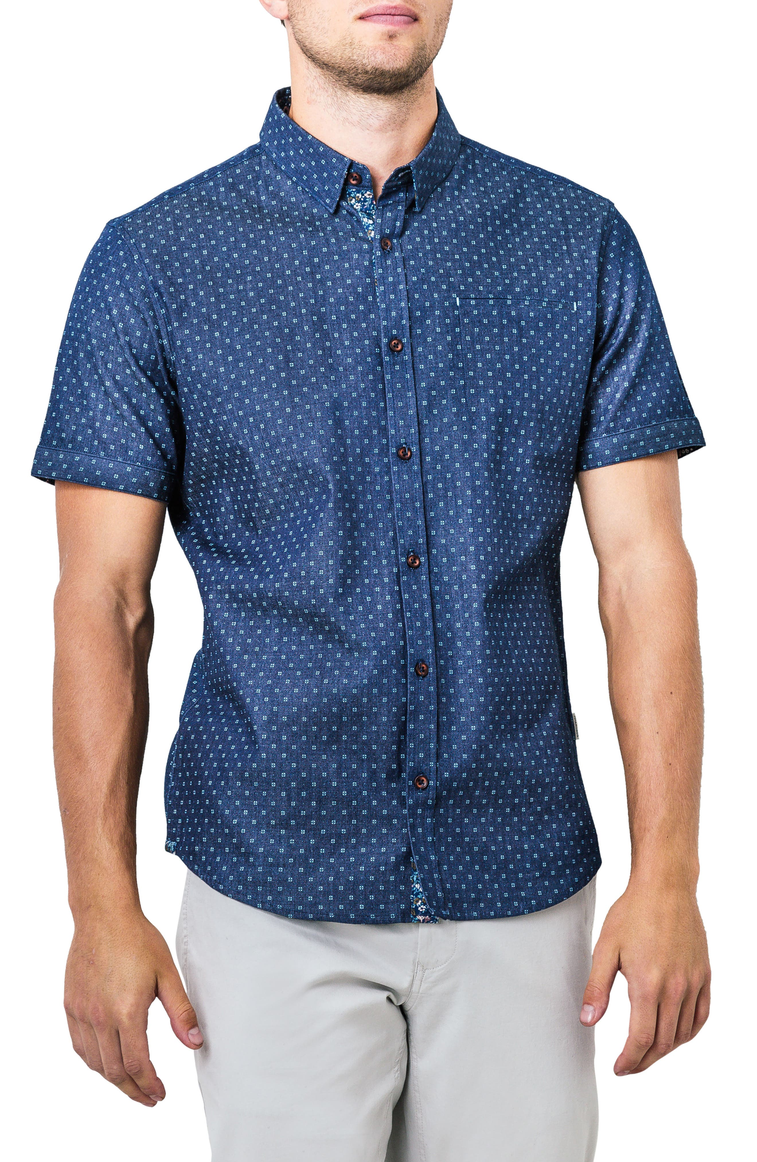 Innervision Woven Shirt,                             Main thumbnail 1, color,                             410