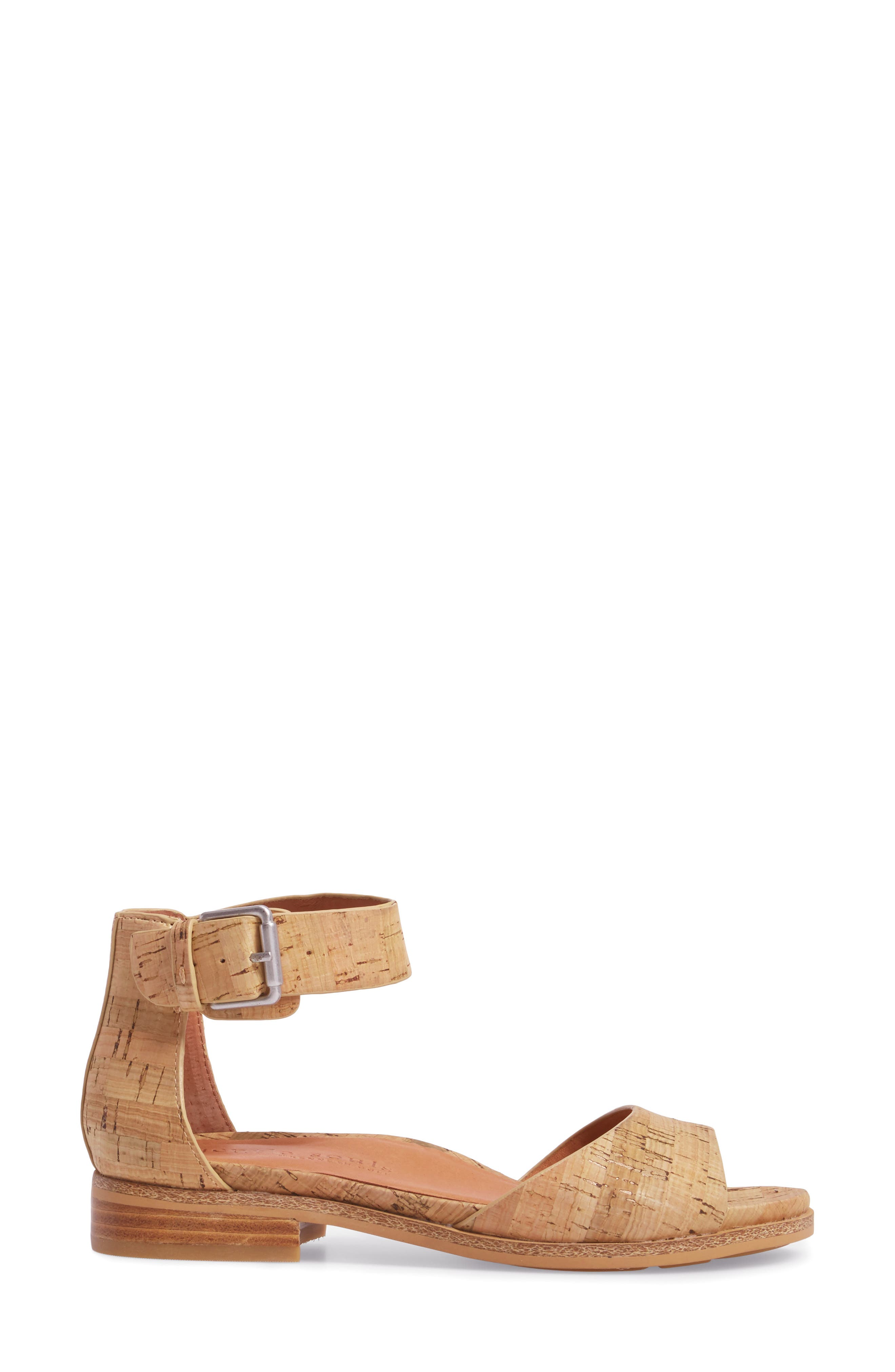 by Kenneth Cole Gracey Sandal,                             Alternate thumbnail 3, color,                             NATURAL CORK