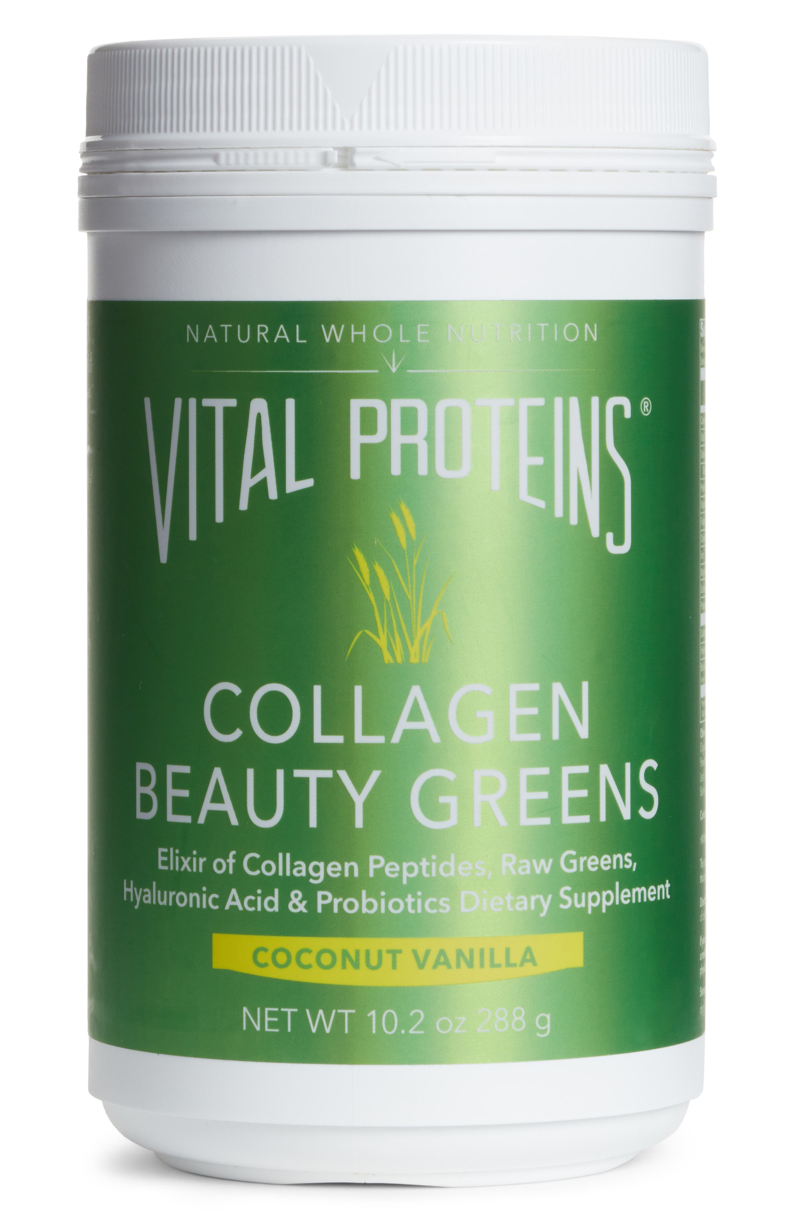 Collagen Beauty Greens Dietary Supplement,                             Main thumbnail 1, color,                             960