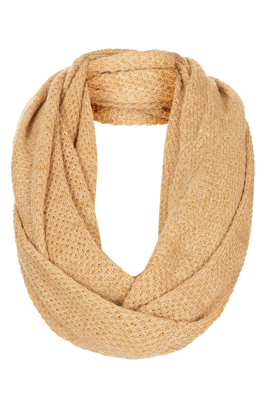 Basket Stitch Infinity Scarf,                         Main,                         color, 252