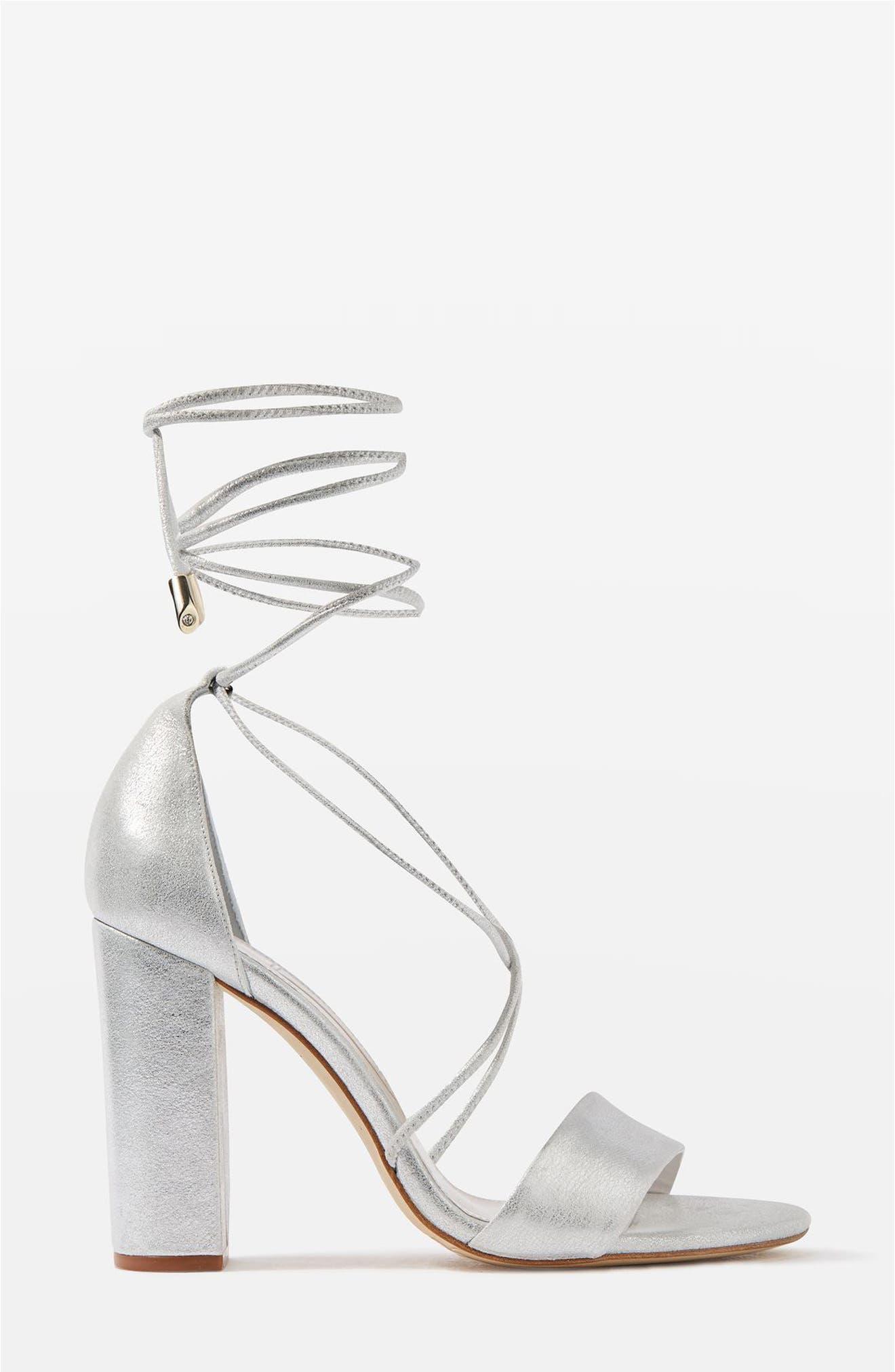 Bride Beatrix Lace-Up Sandals,                             Main thumbnail 1, color,                             040