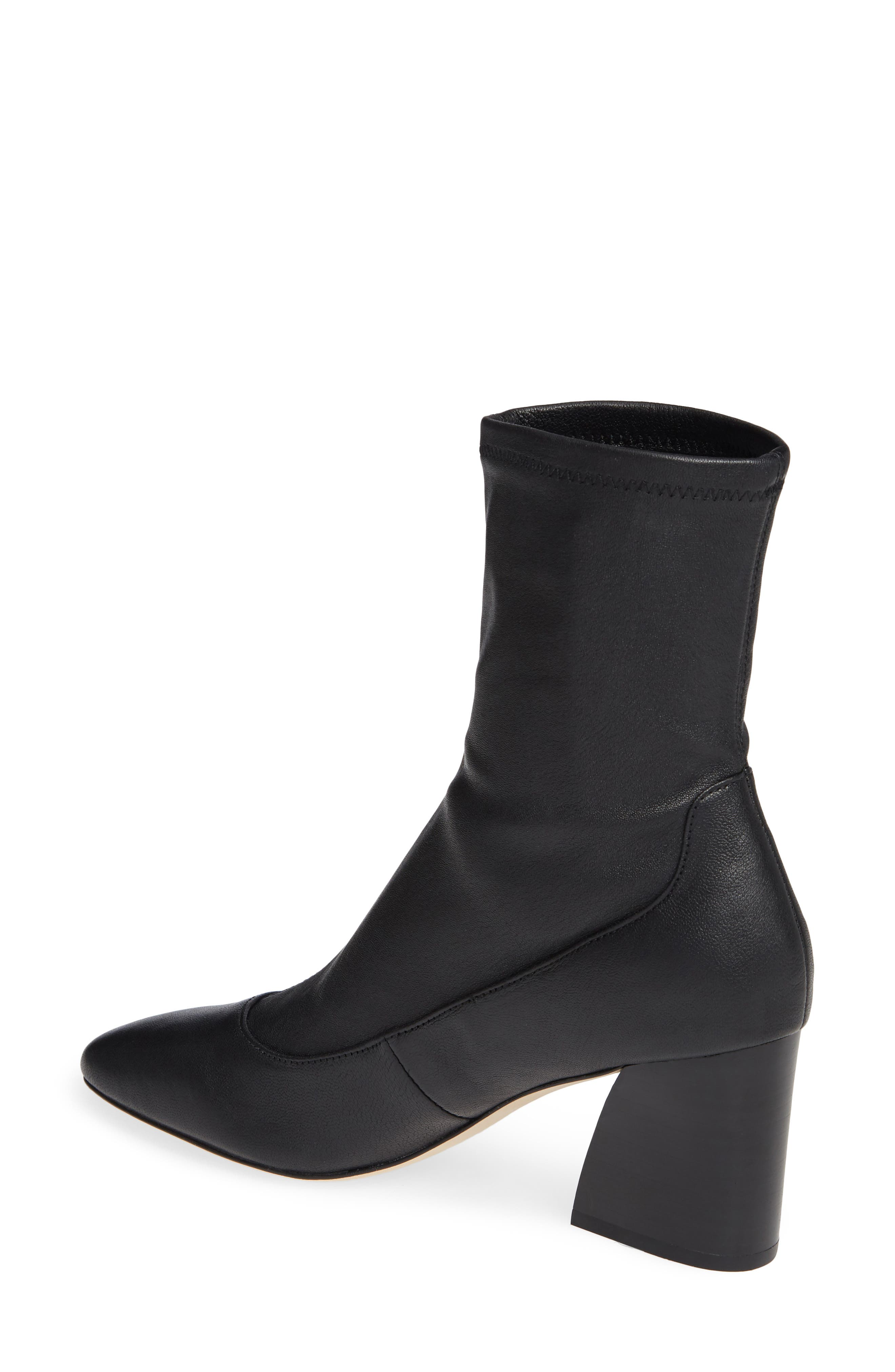 Gerrie Stretch Bootie,                             Alternate thumbnail 2, color,                             NAVY NAPPA