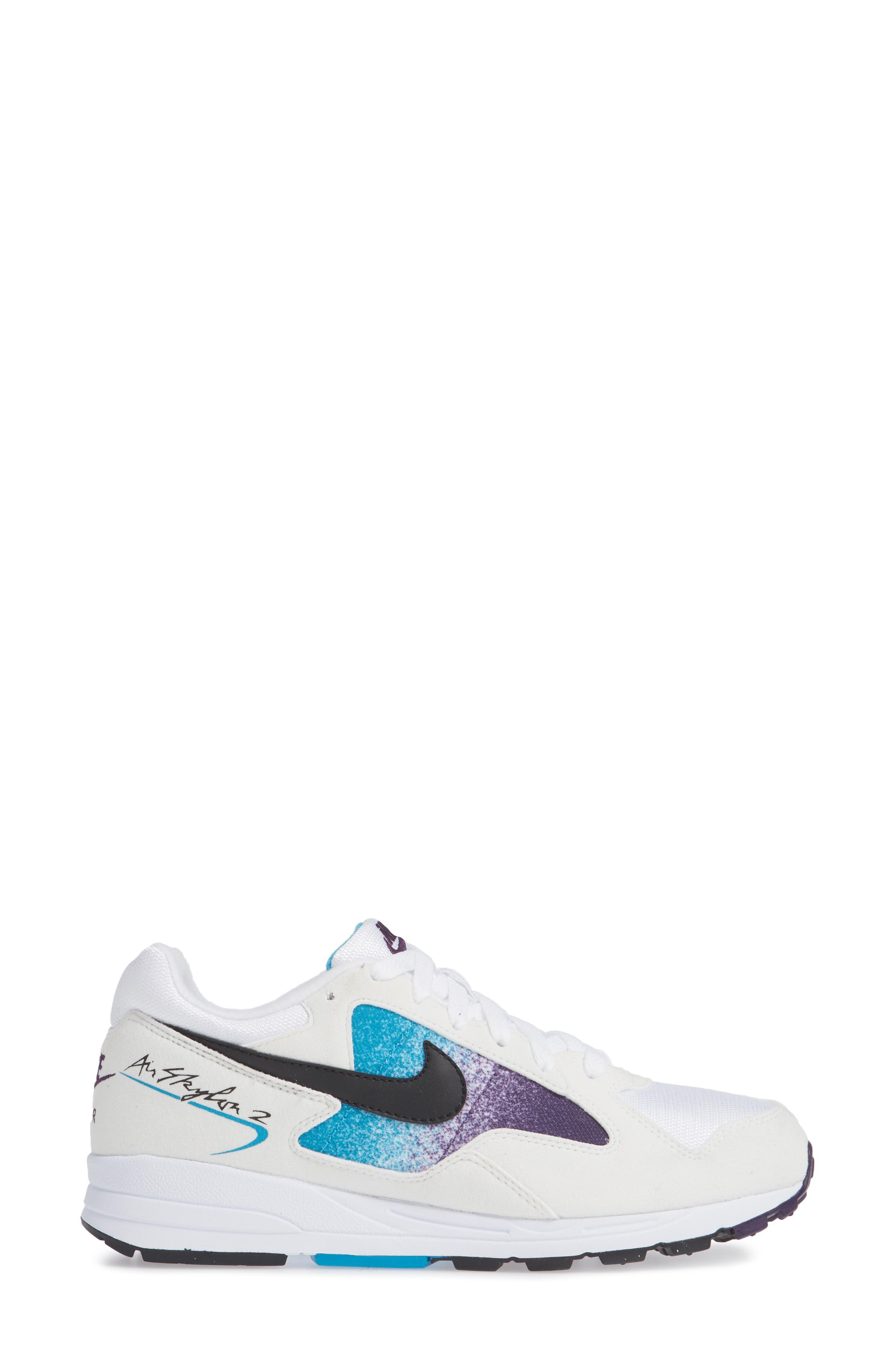 Air Skylon II Sneaker,                             Alternate thumbnail 3, color,                             100