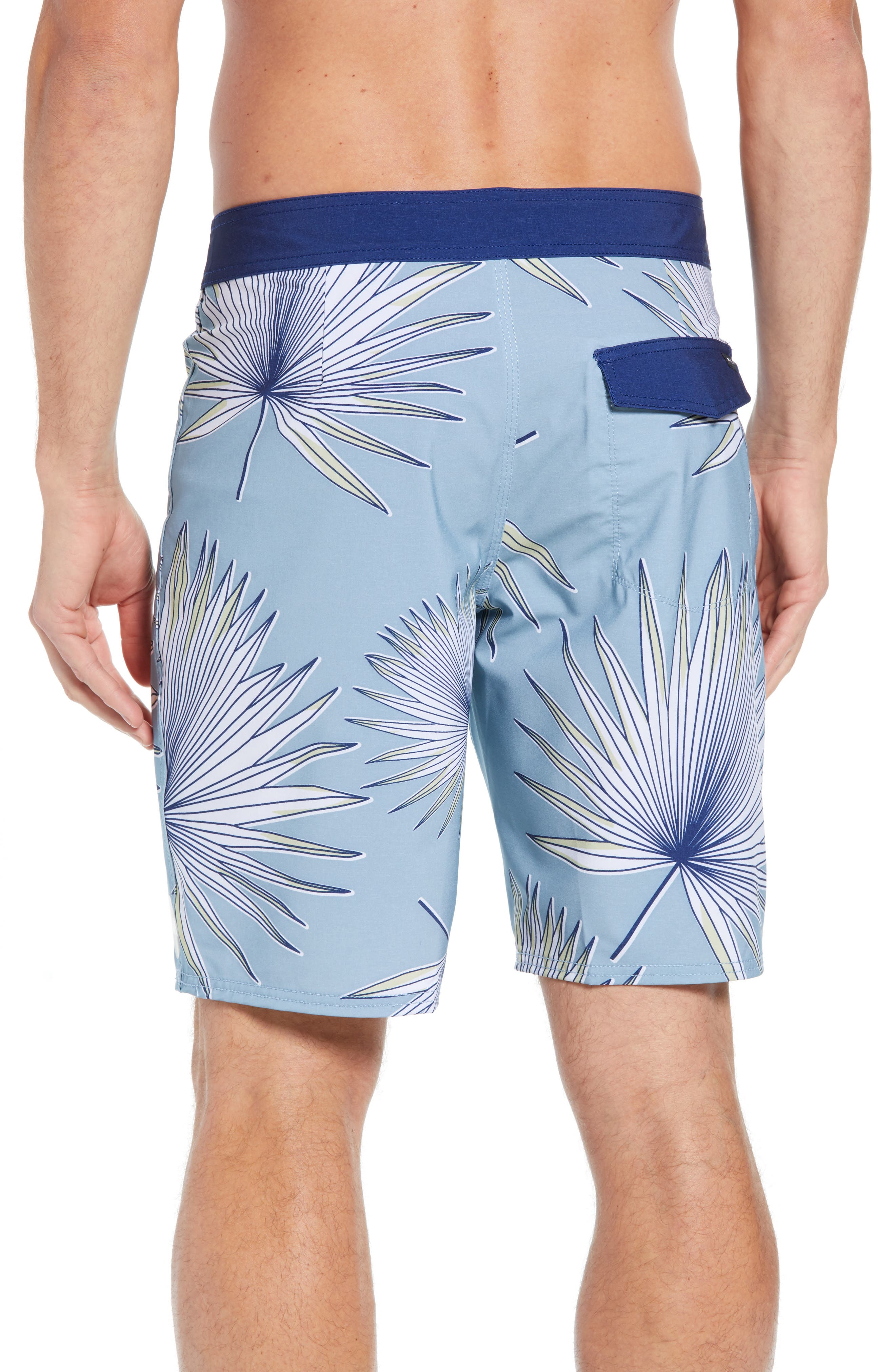 Varca Board Shorts,                             Alternate thumbnail 2, color,                             DUSTY BLUE