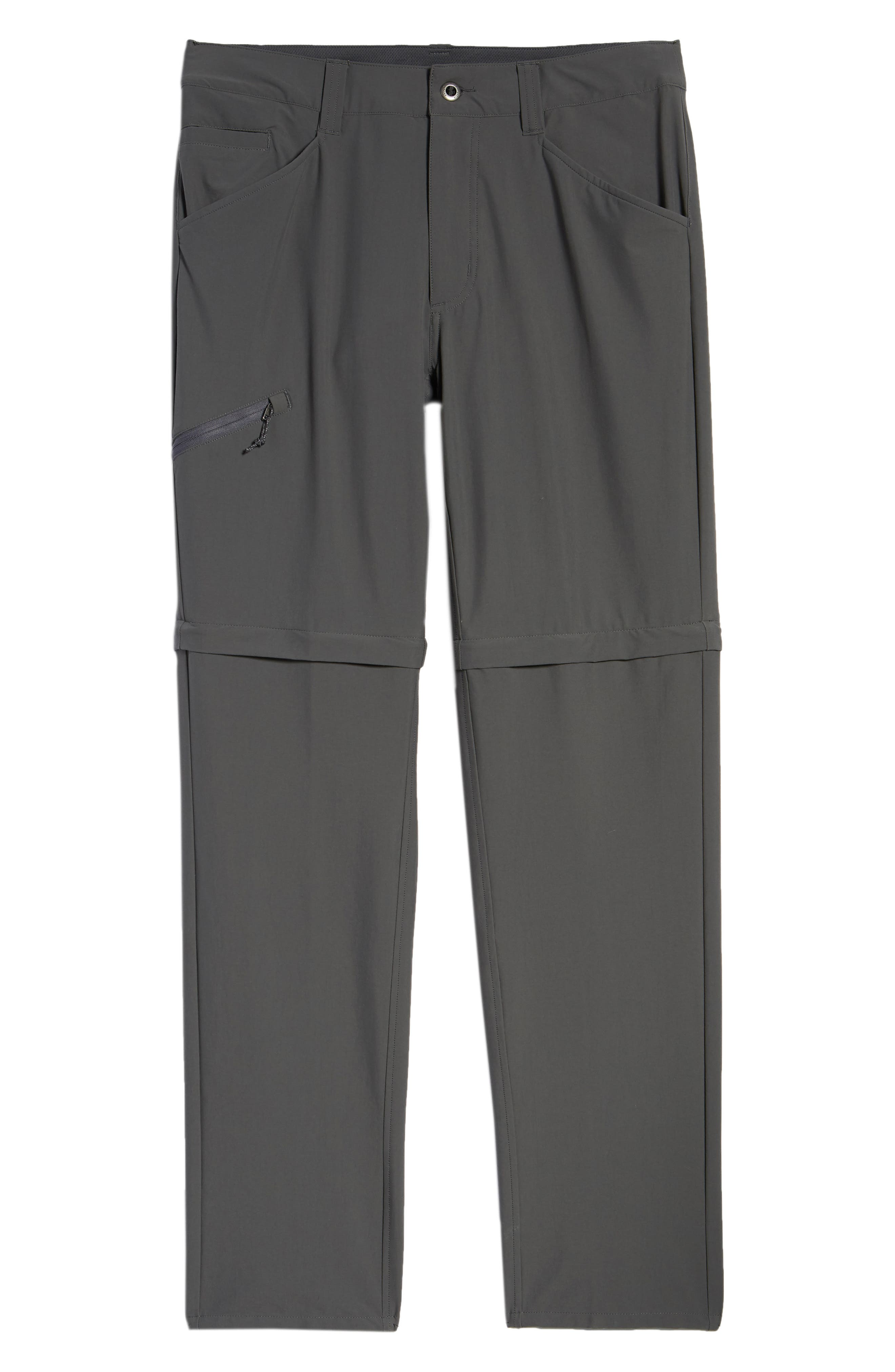 M's Quandry Convertible Pants,                             Alternate thumbnail 6, color,                             FORGE GREY