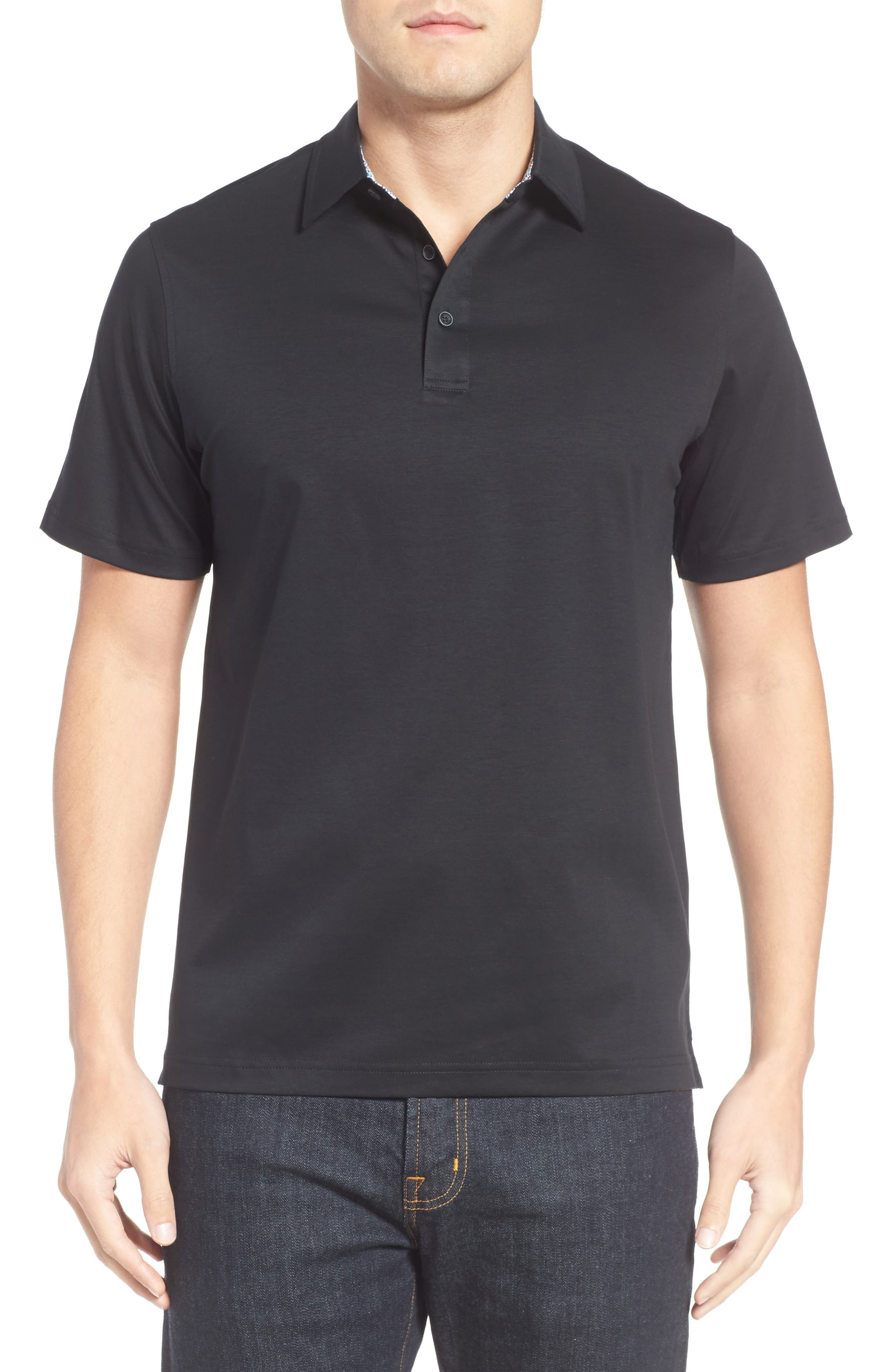 Jersey Polo,                         Main,                         color, 001