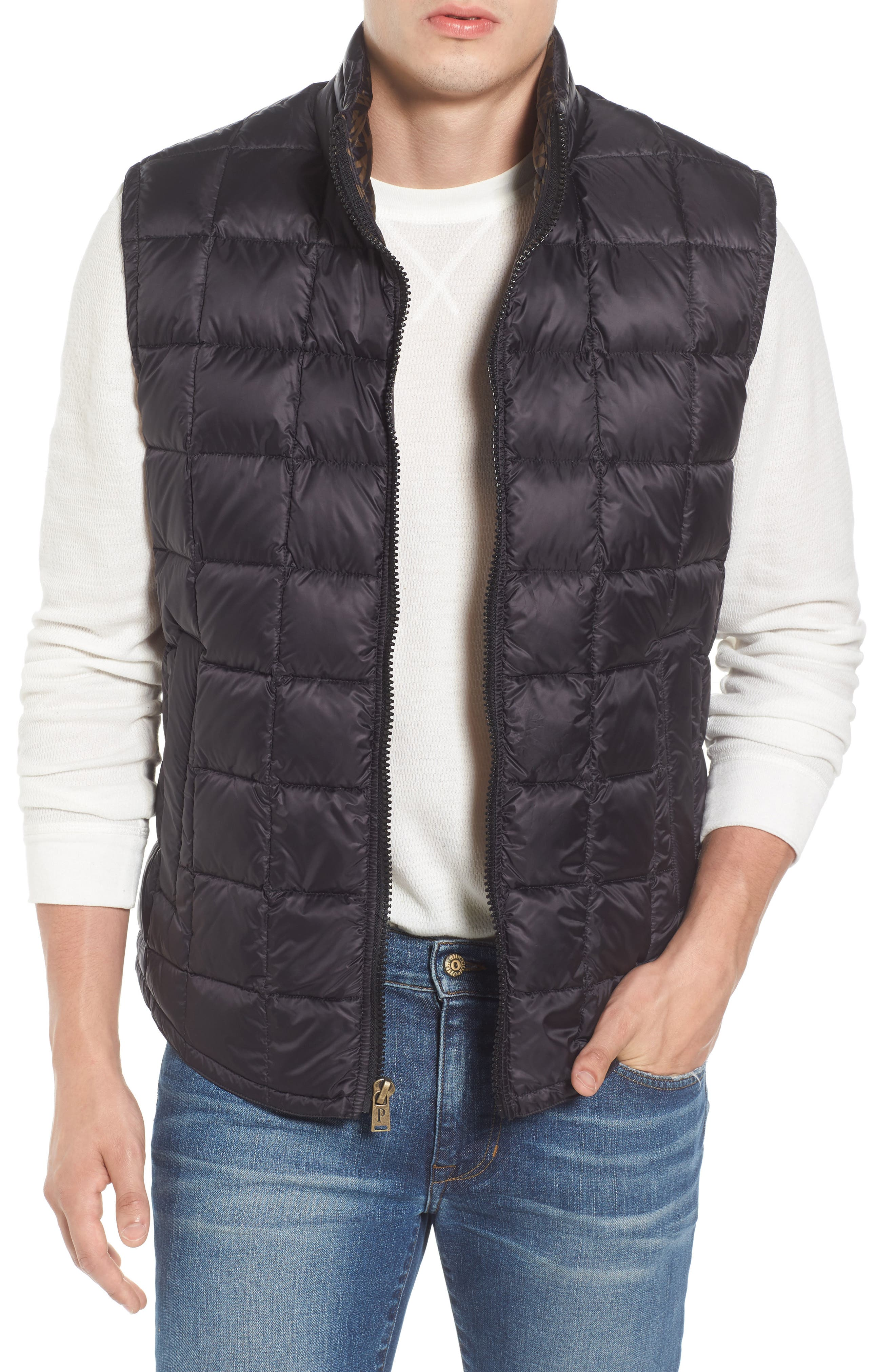 Billings Down Vest,                             Main thumbnail 1, color,                             001