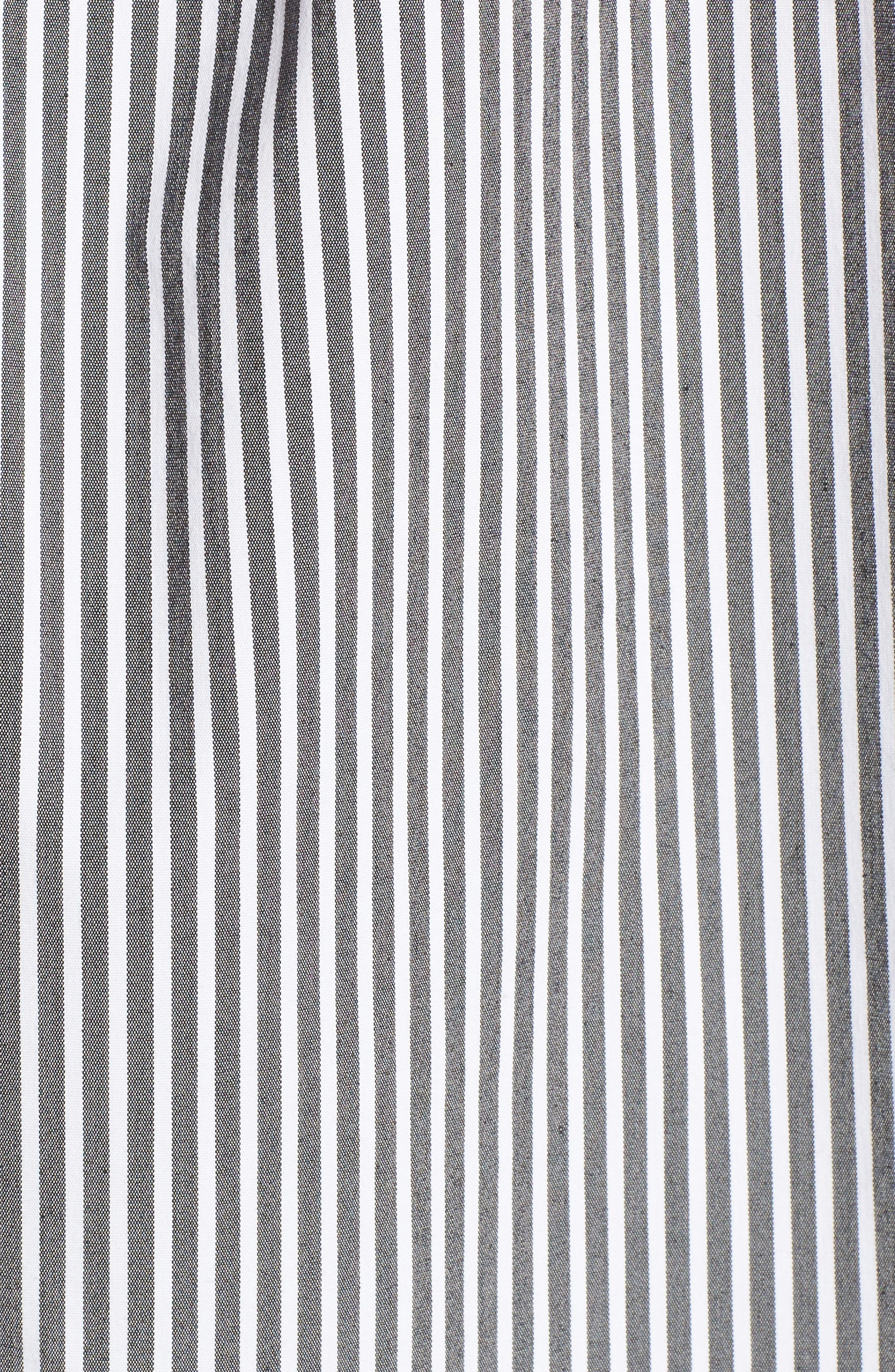 Ruffle One-Shoulder Blouse,                             Alternate thumbnail 5, color,                             006