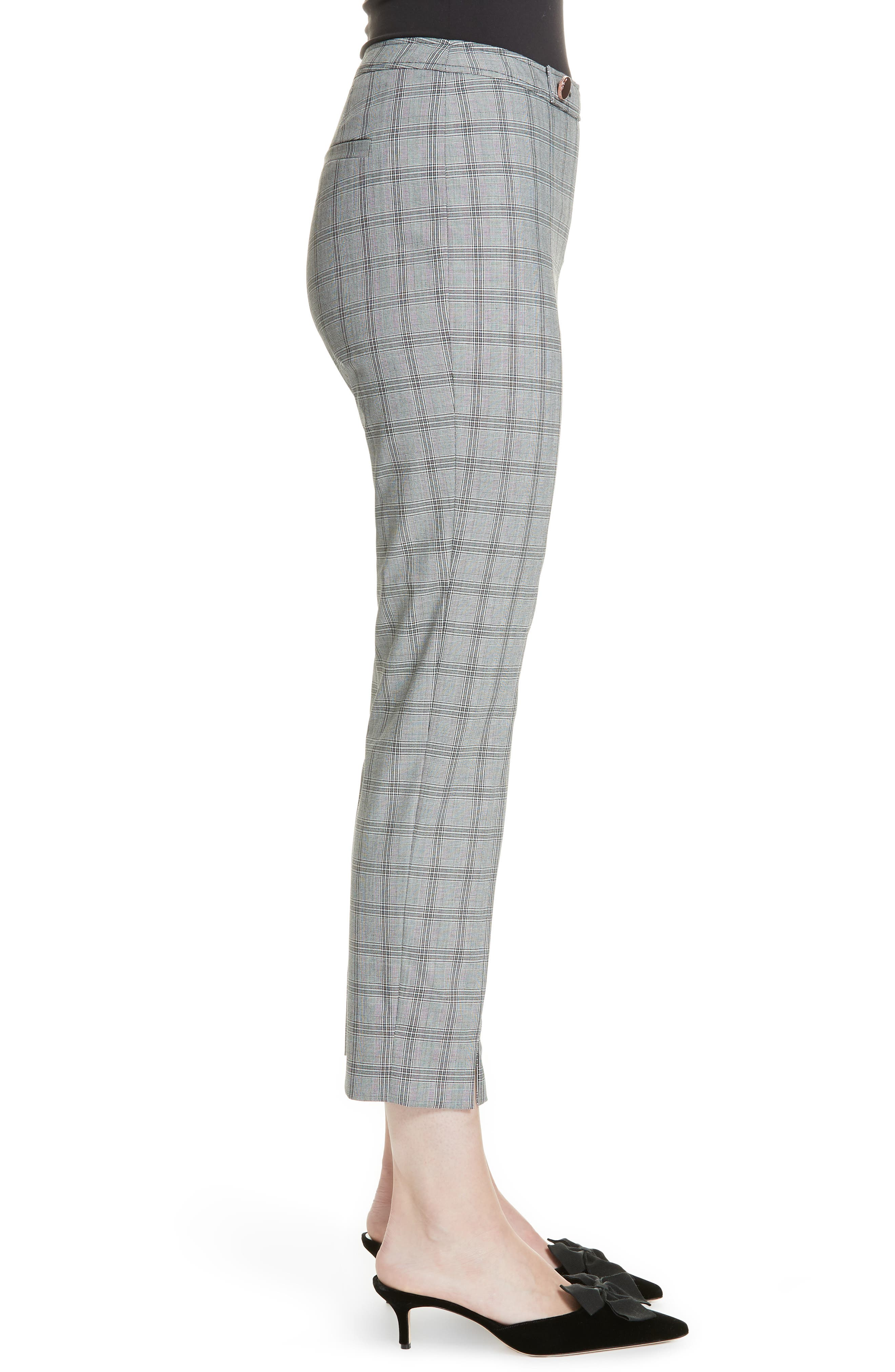 Ted Working Title Ristat Check Plaid Trousers,                             Alternate thumbnail 3, color,                             030