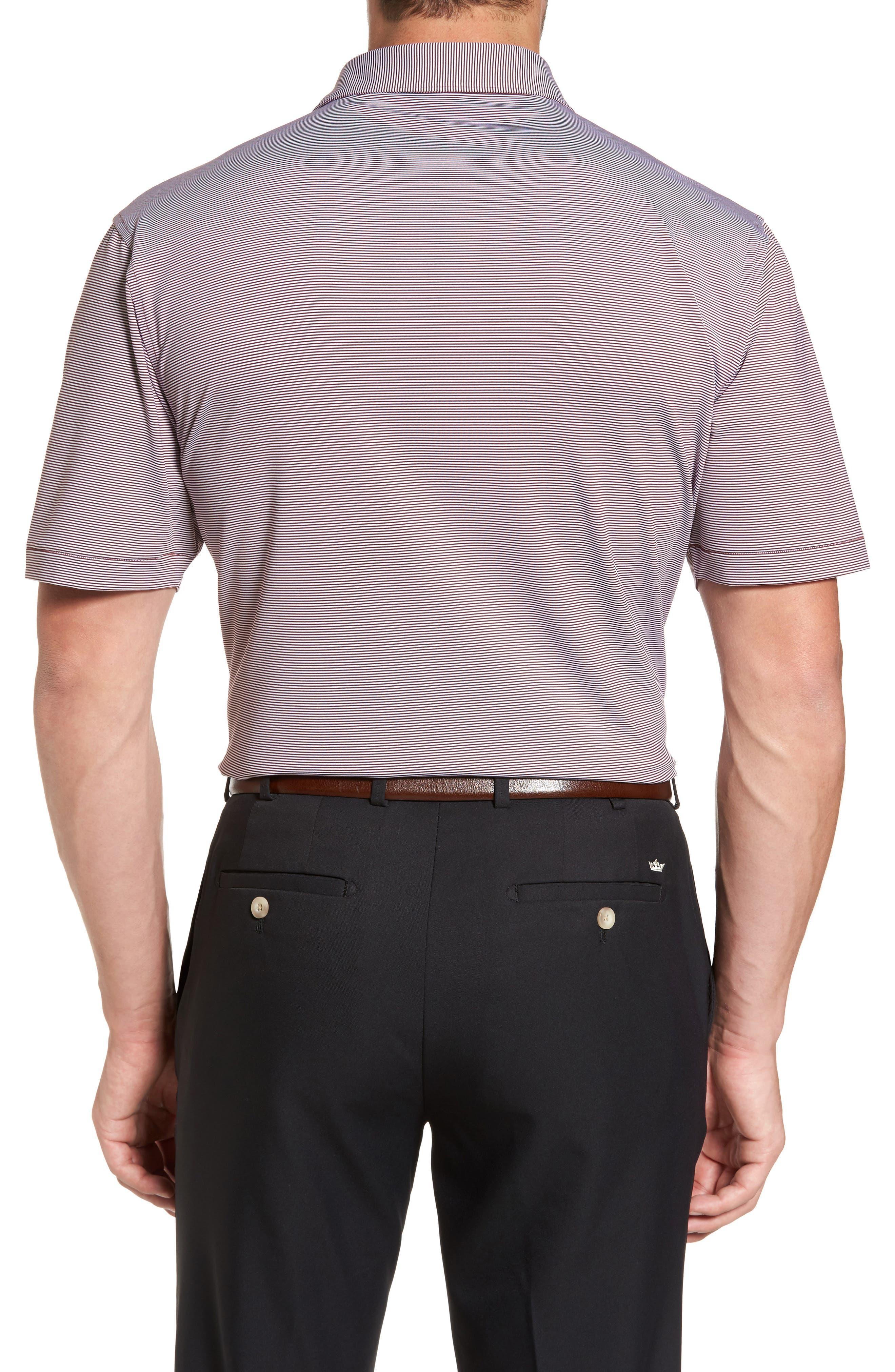Sean Jubilee Stripe Jersey Polo,                             Alternate thumbnail 9, color,