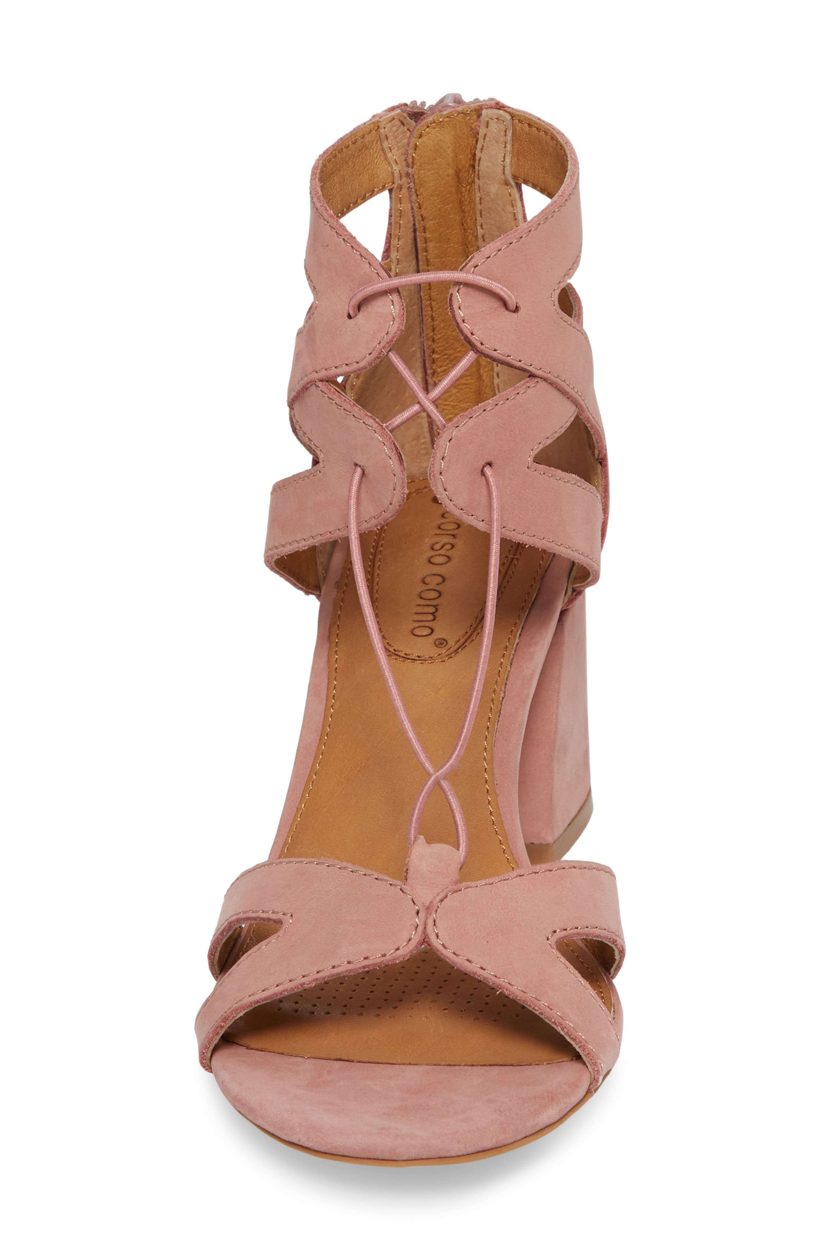 Lynne Sandal,                             Alternate thumbnail 4, color,                             OLD ROSE LEATHER