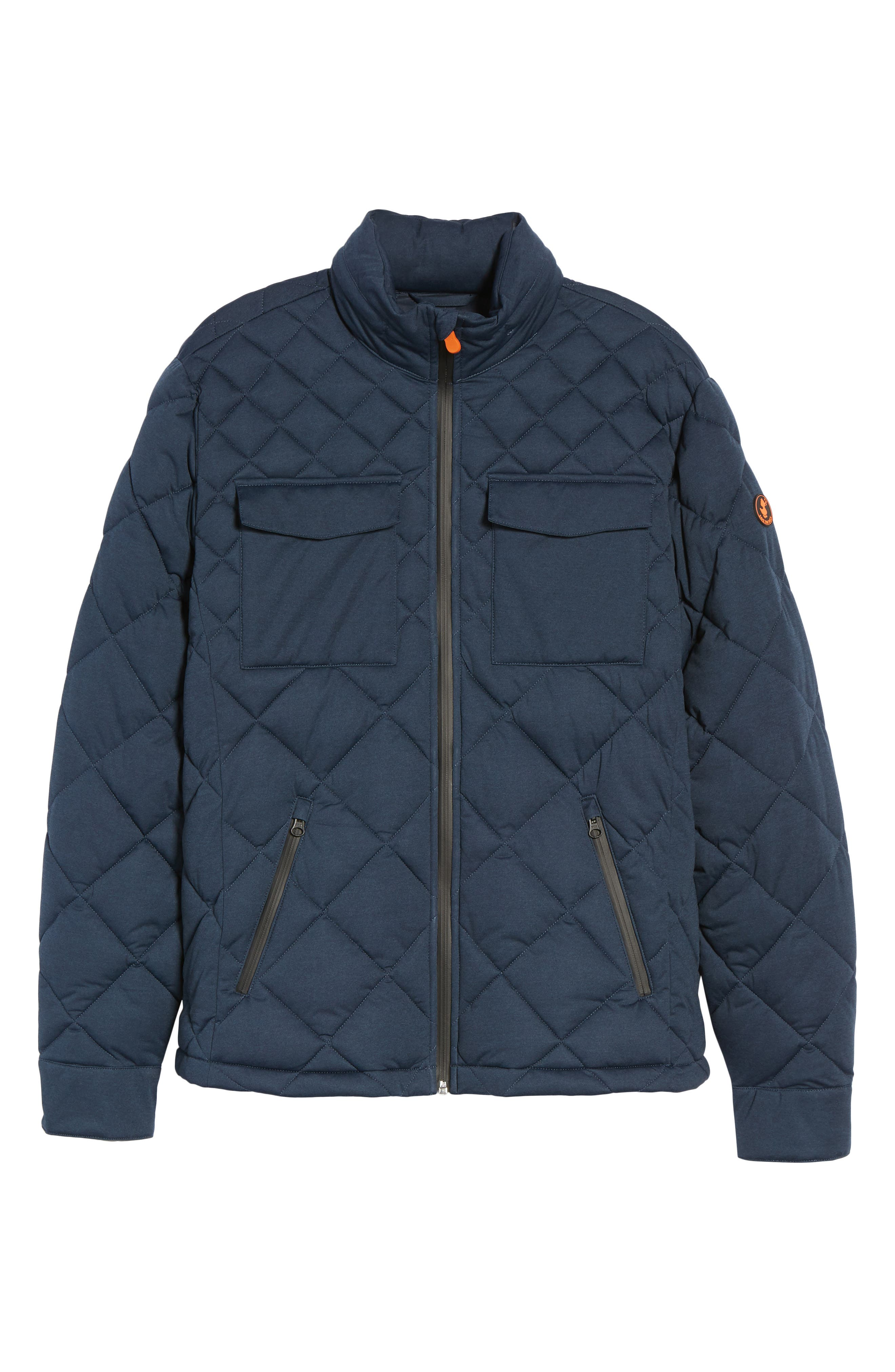 Stretch Quilted Field Jacket,                             Alternate thumbnail 5, color,                             411