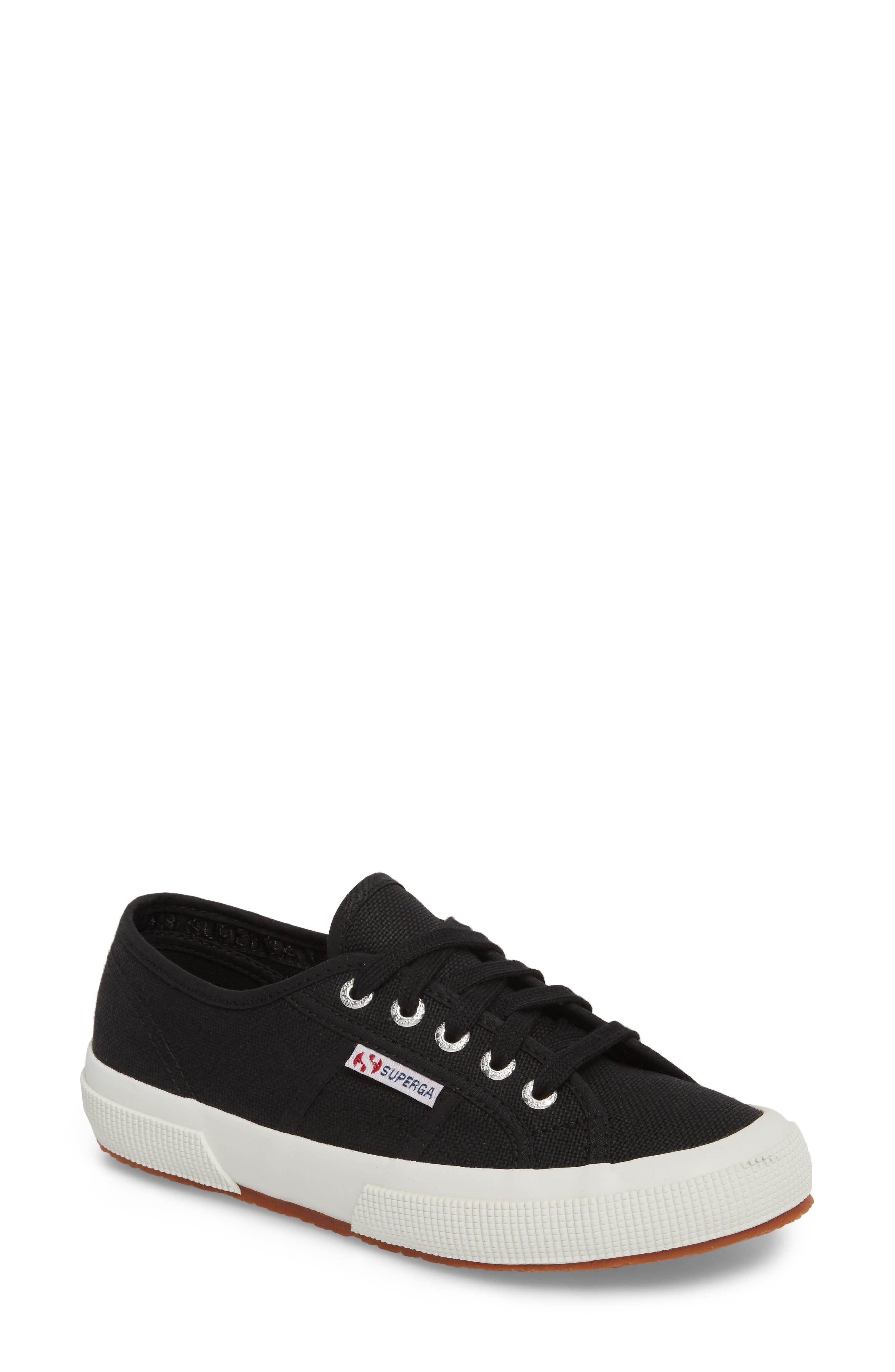 'Cotu' Sneaker,                         Main,                         color, BLACK/ BLACK/ WHITE