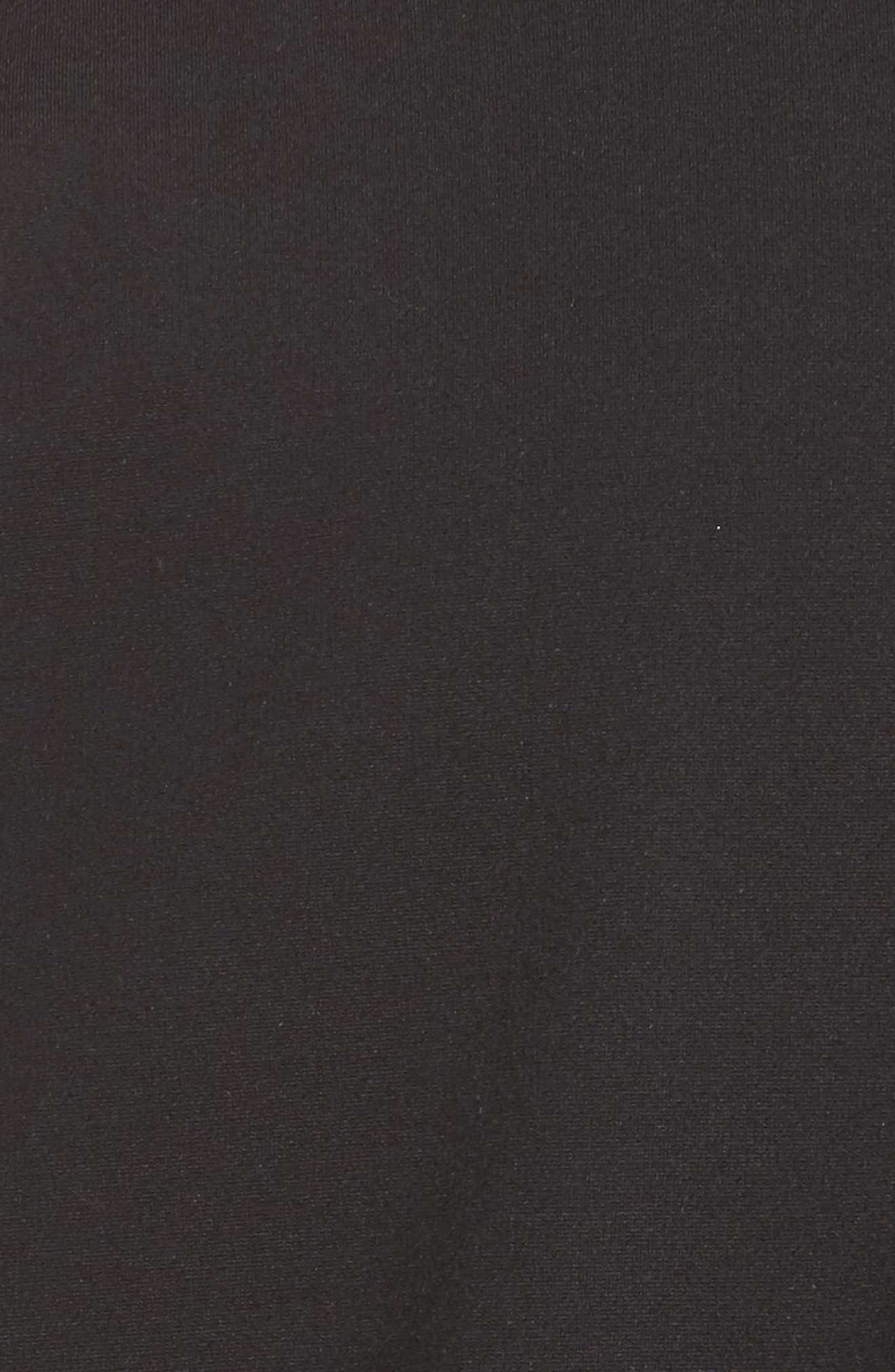 Tilly Reversible Ponte Jacket,                             Alternate thumbnail 7, color,                             CHARCOAL