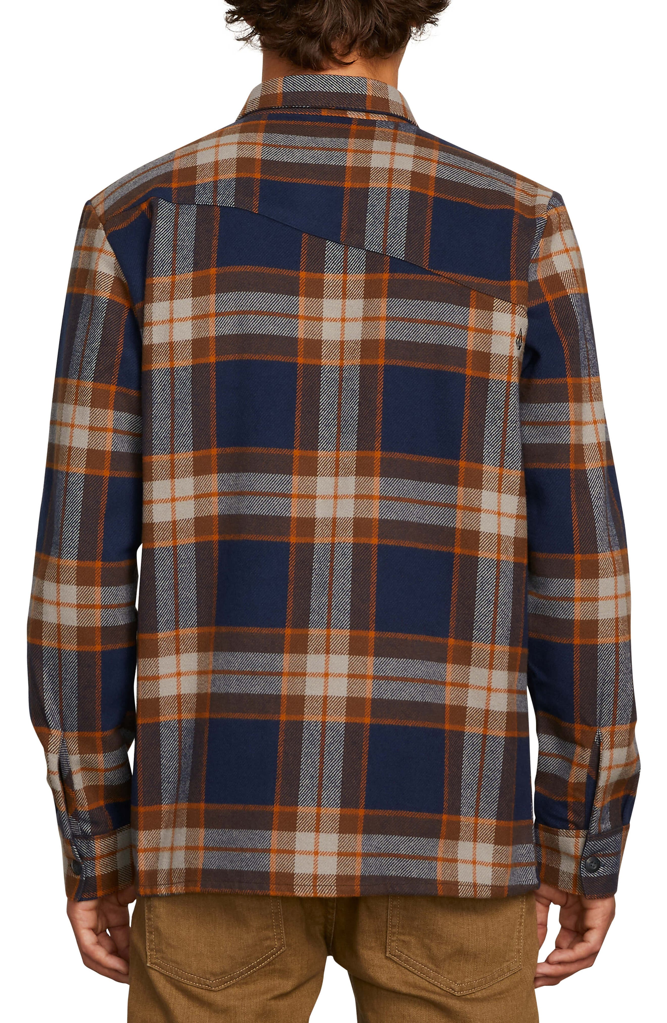 Randower Heavyweight Flannel Shirt,                             Alternate thumbnail 2, color,                             MELINDIGO