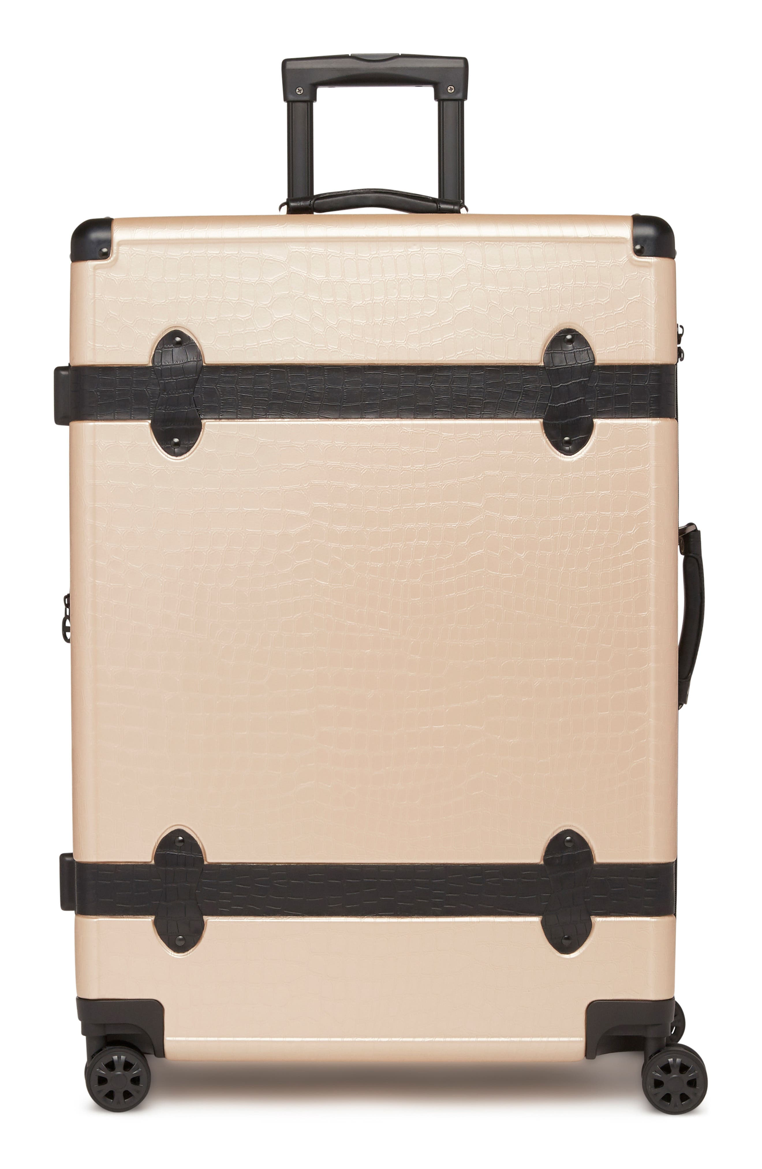 Pullman 3-Piece Spinner Luggage Set,                             Alternate thumbnail 4, color,                             NUDE