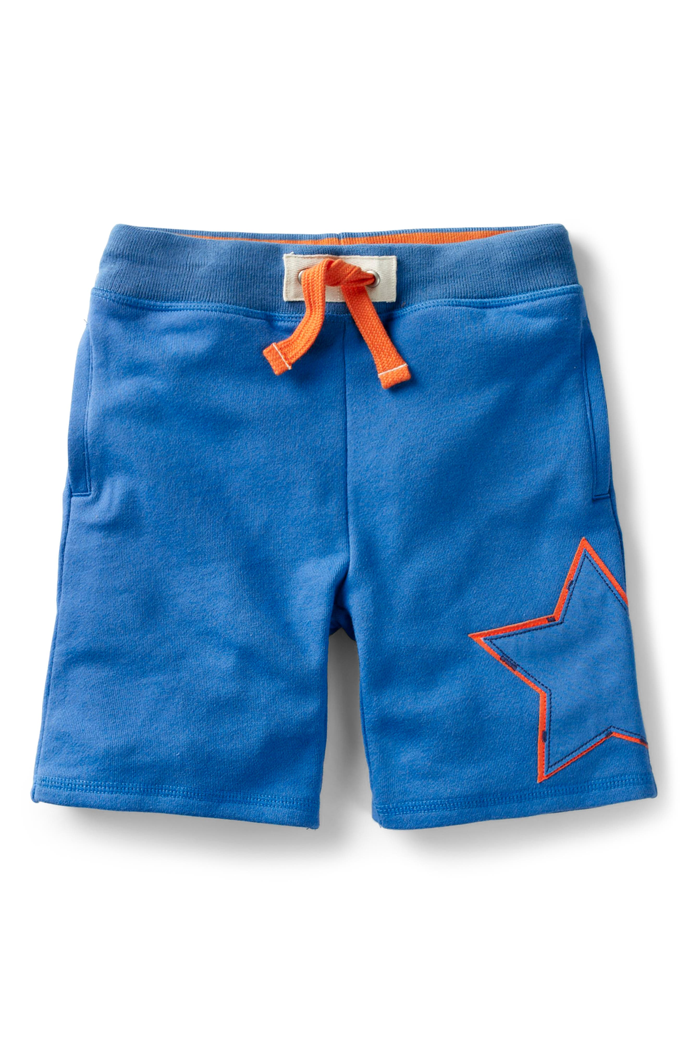 Appliqué Knit Shorts,                         Main,                         color, 424