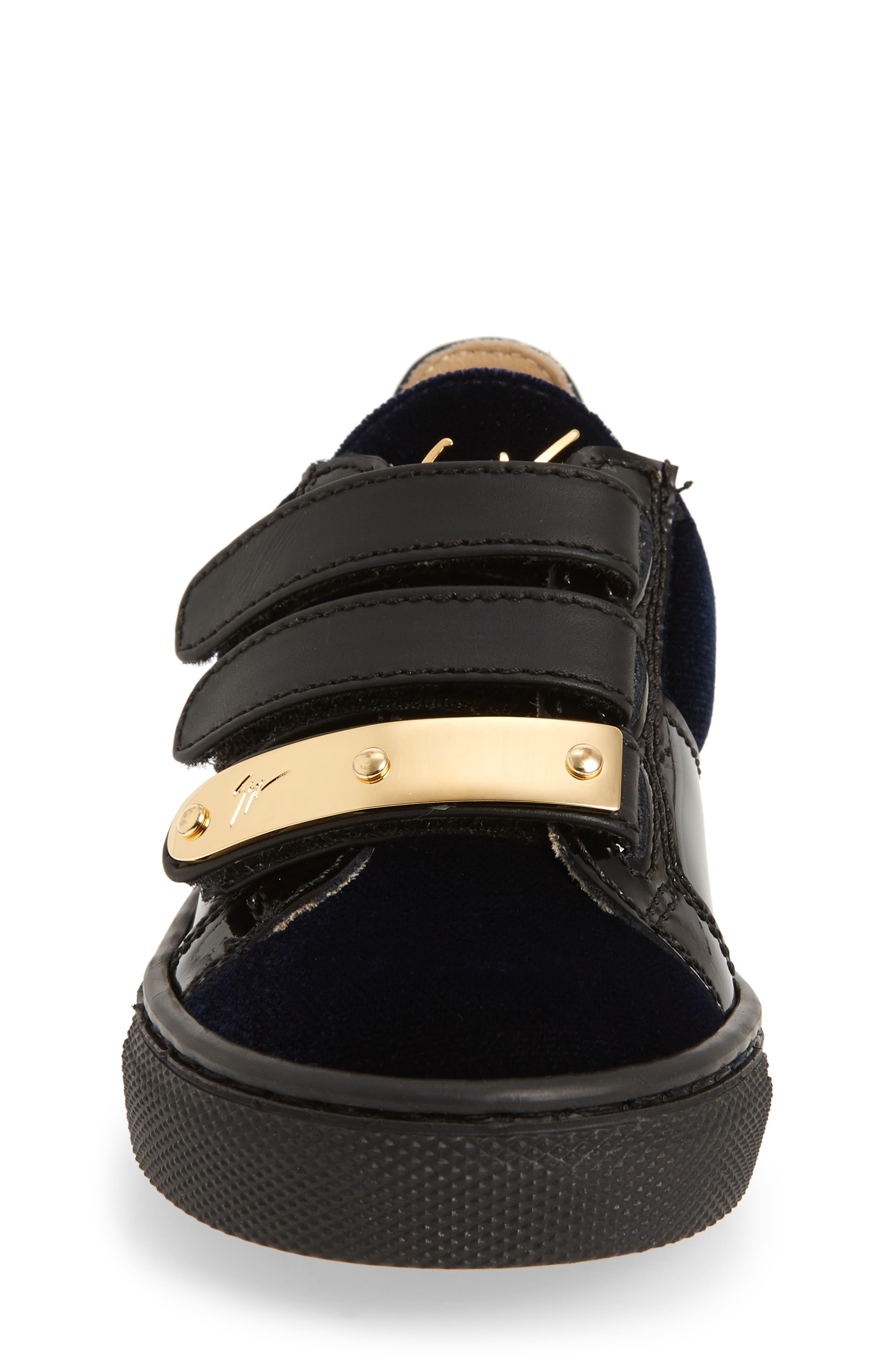 Logoball Strap Sneaker,                             Alternate thumbnail 4, color,                             400